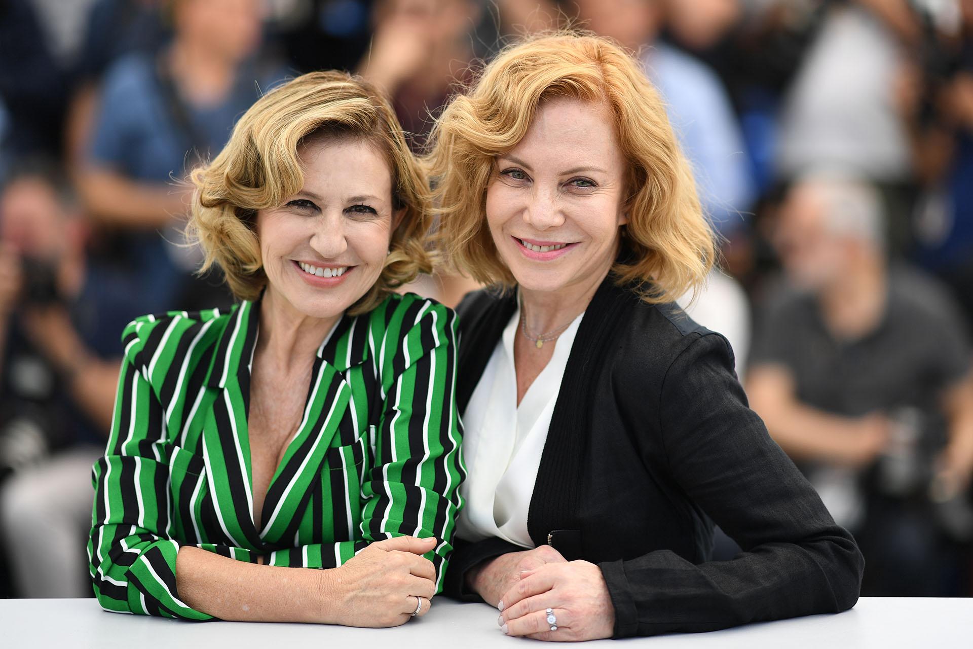 Mercedes Morán y Cecilia Roth (AFP)