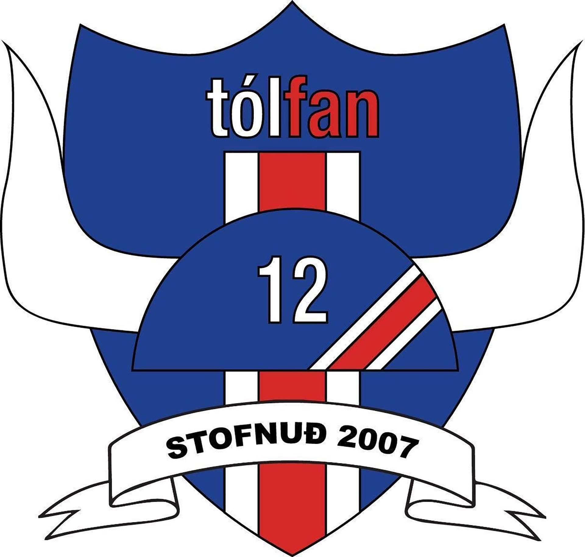 El escudo de la Tólfan, la hinchada islandesa