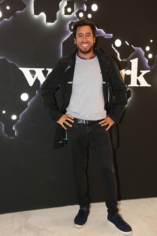 Gastón Parisier, emprendedor de Endeavor, estuvo presente en la apertura de WeWork Libertador 1000