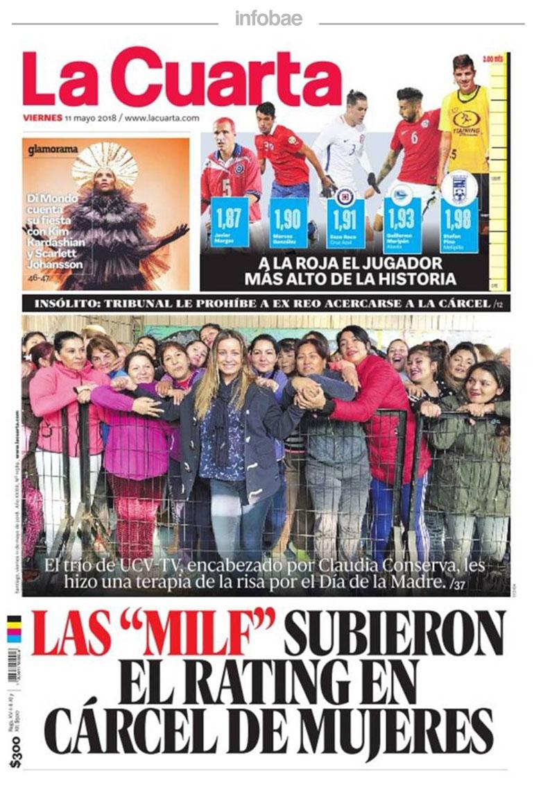 La Cuarta, Chile, 12 de mayo de 2018 – One Radio 99.7