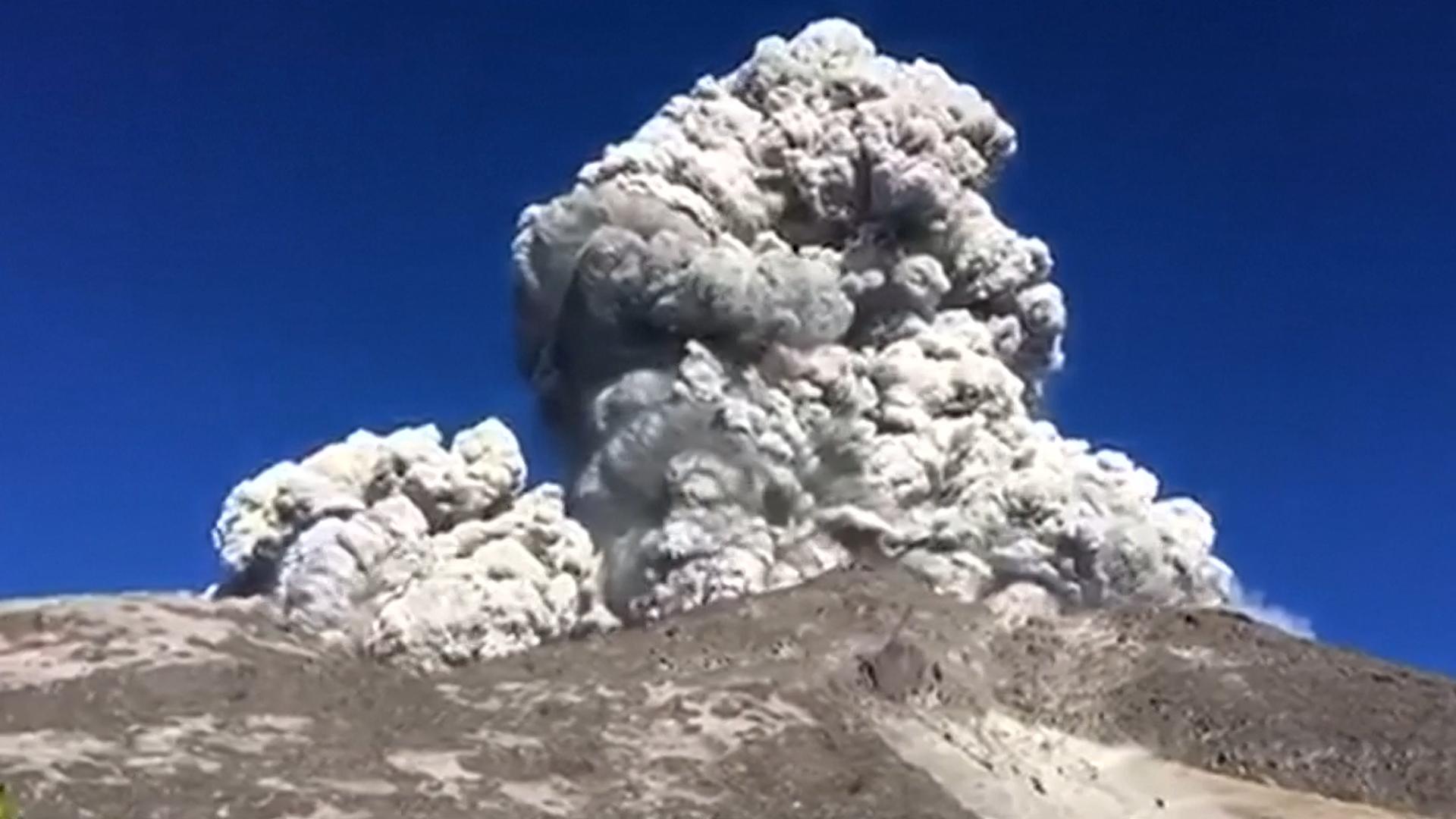 Indonesia ha sido especialmente afectada, con volcanes y terremotos.