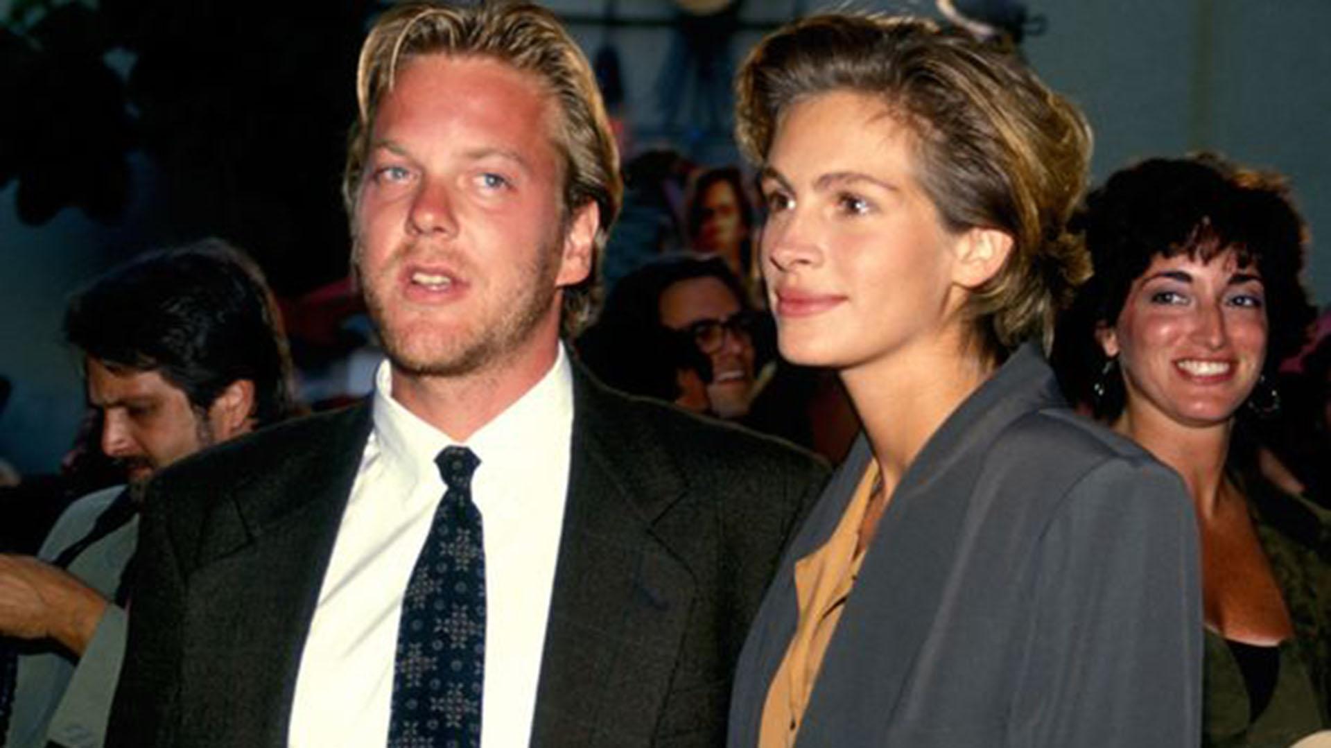 El romance de Sutherland y Roberts llamó la atención de todos a comienzos de los 90