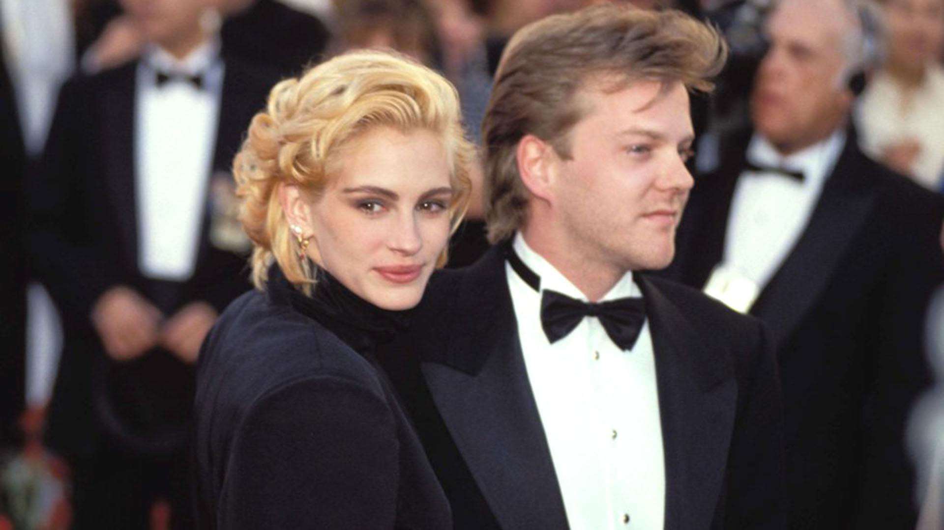 "Julia Roberts ""plantó"" a Kiefer Sutherland en 1991 a tres días de casarse"