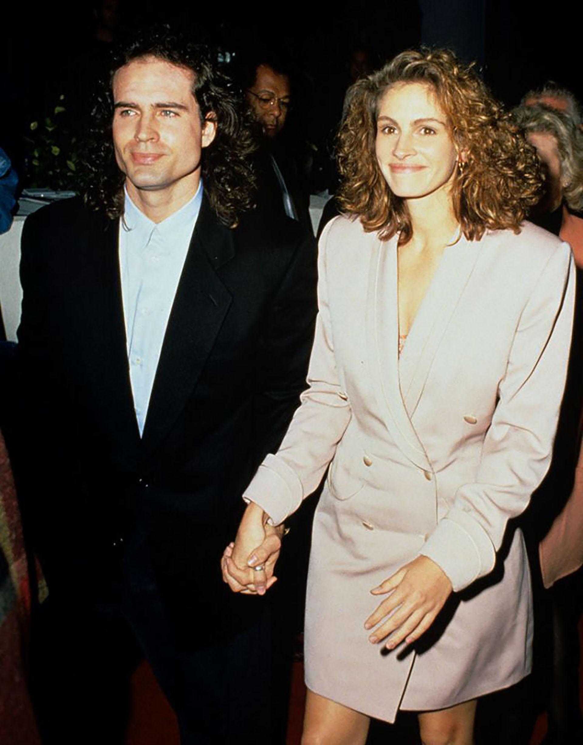 A tres días de la fecha estipulada para la boda, la estrella de Hollywood huyó junto al actor Jason Patric