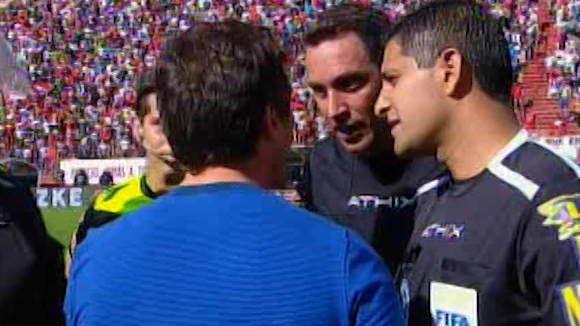 Guillermo discutió con Rapallini