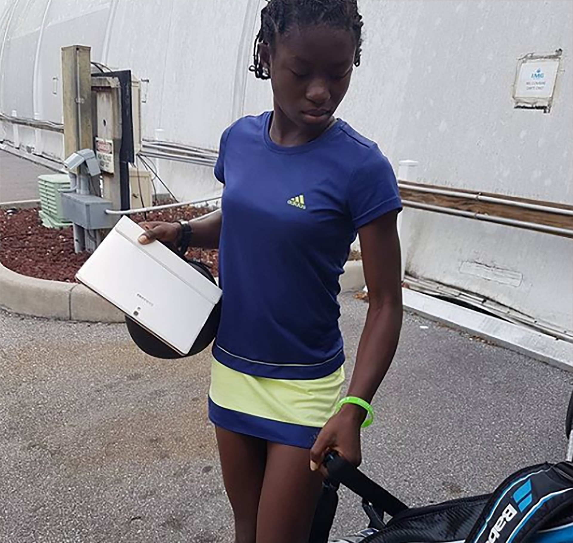 Con 13 años podría convertirse en una de las mejores tenistas del país