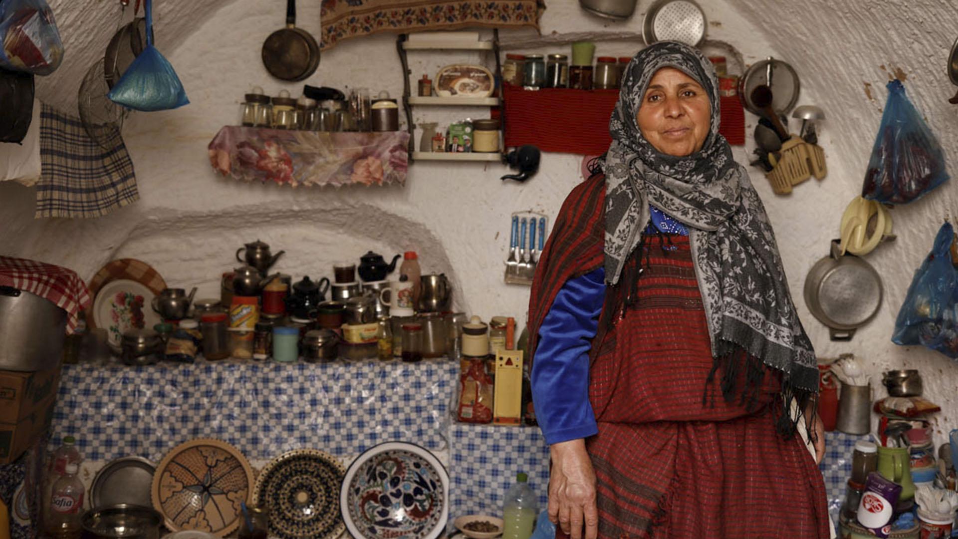 La cocina subterránea de Mounija, de 60 años