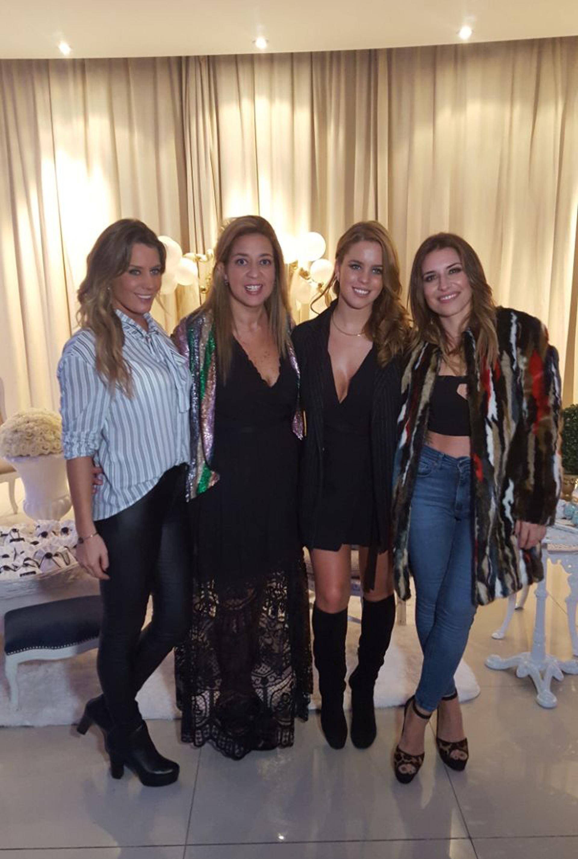 Rocío Marengo, María Laura Gregoriadis, Mariana Brey y Melisa Engstfeld