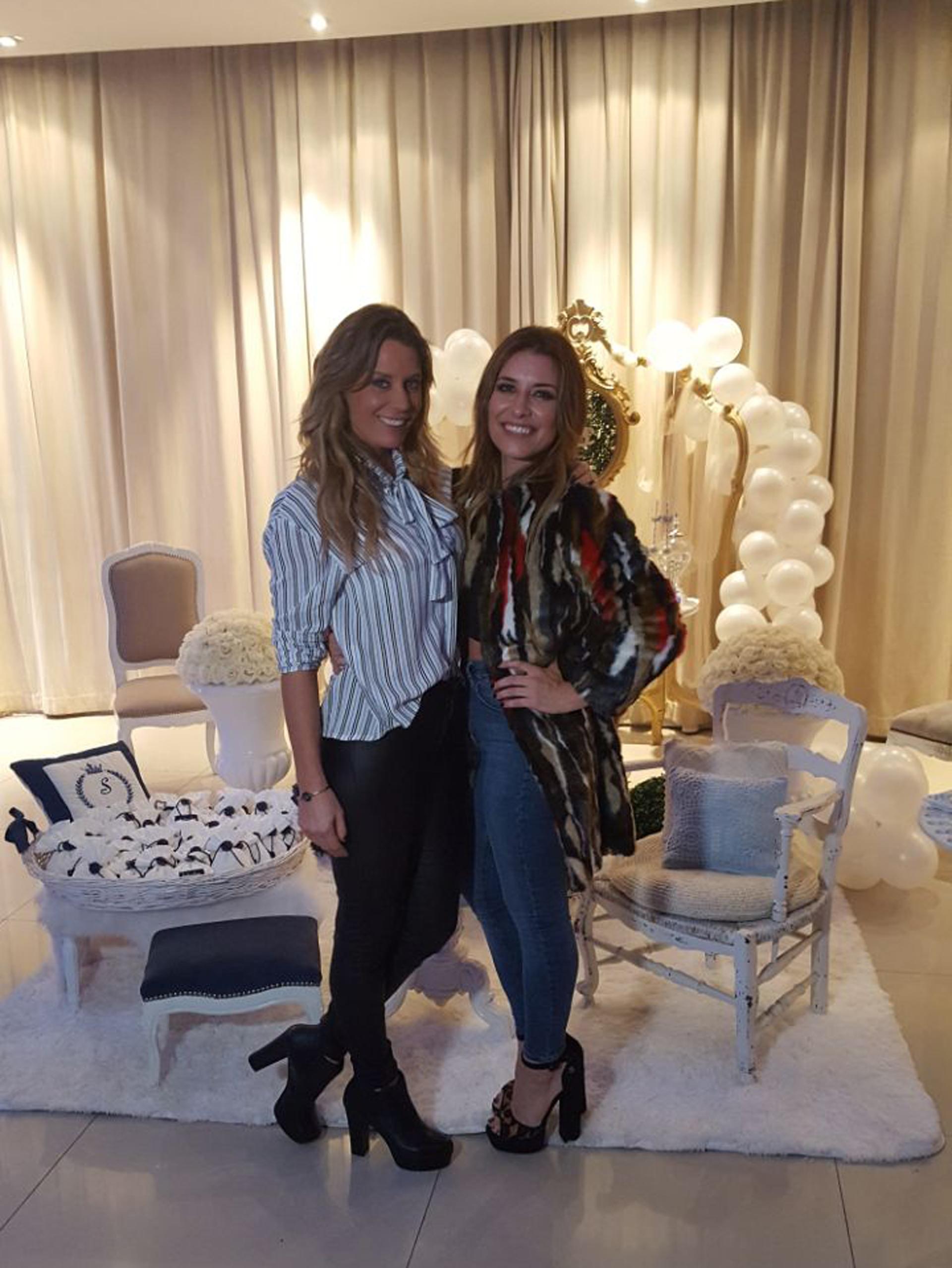Rocío Marengo y Mariana Brey