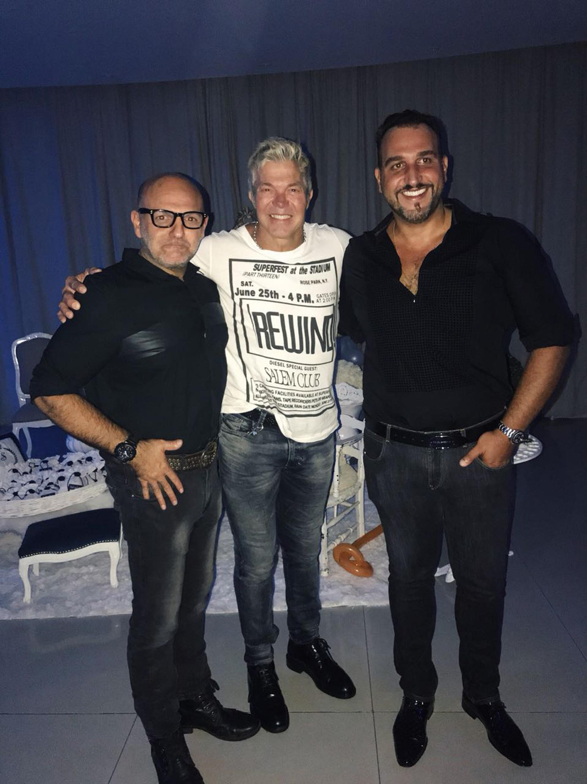 Ramiro Giménez, Fernando Burlando y Andrés Chistopoulos