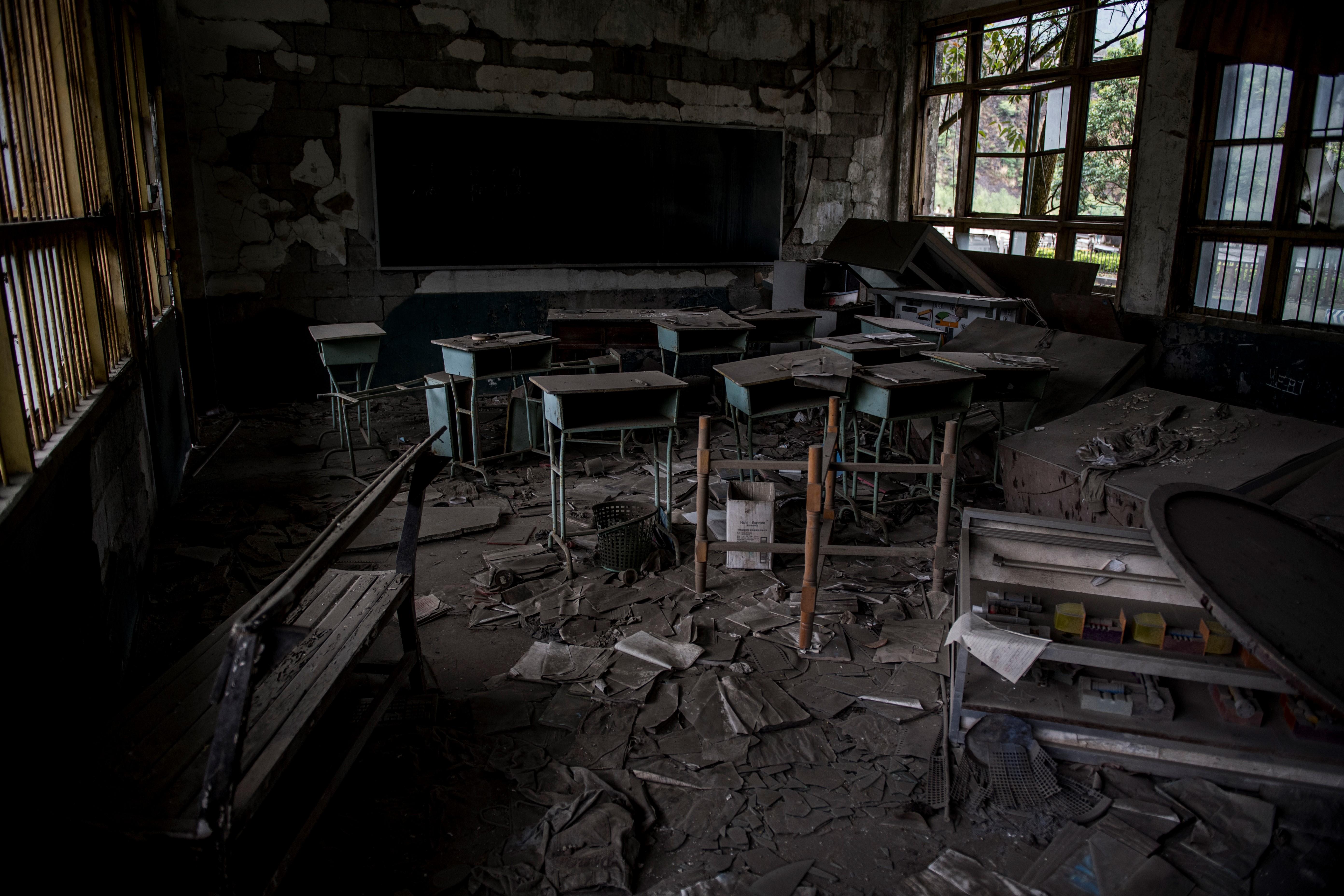 Un aula del colegio (AFP / Johannes EISELE)