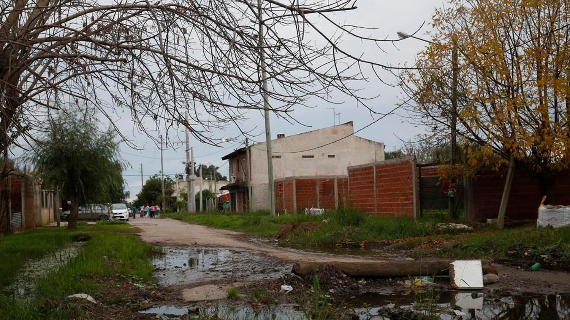 La zona donde está la casa que iba a ser sede de la fiesta (Demián Alday – El Día)