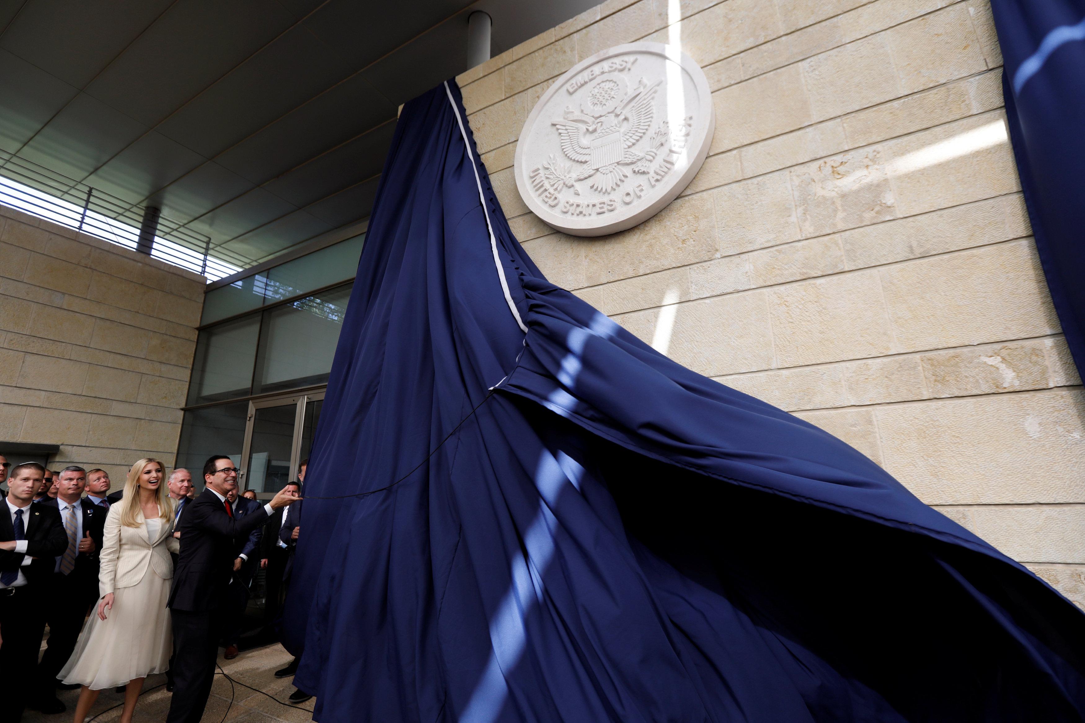 Ivanka Trump encabeza el acto de apertura de la embajada de los EEUU en Jerusalén el 14 de mayo