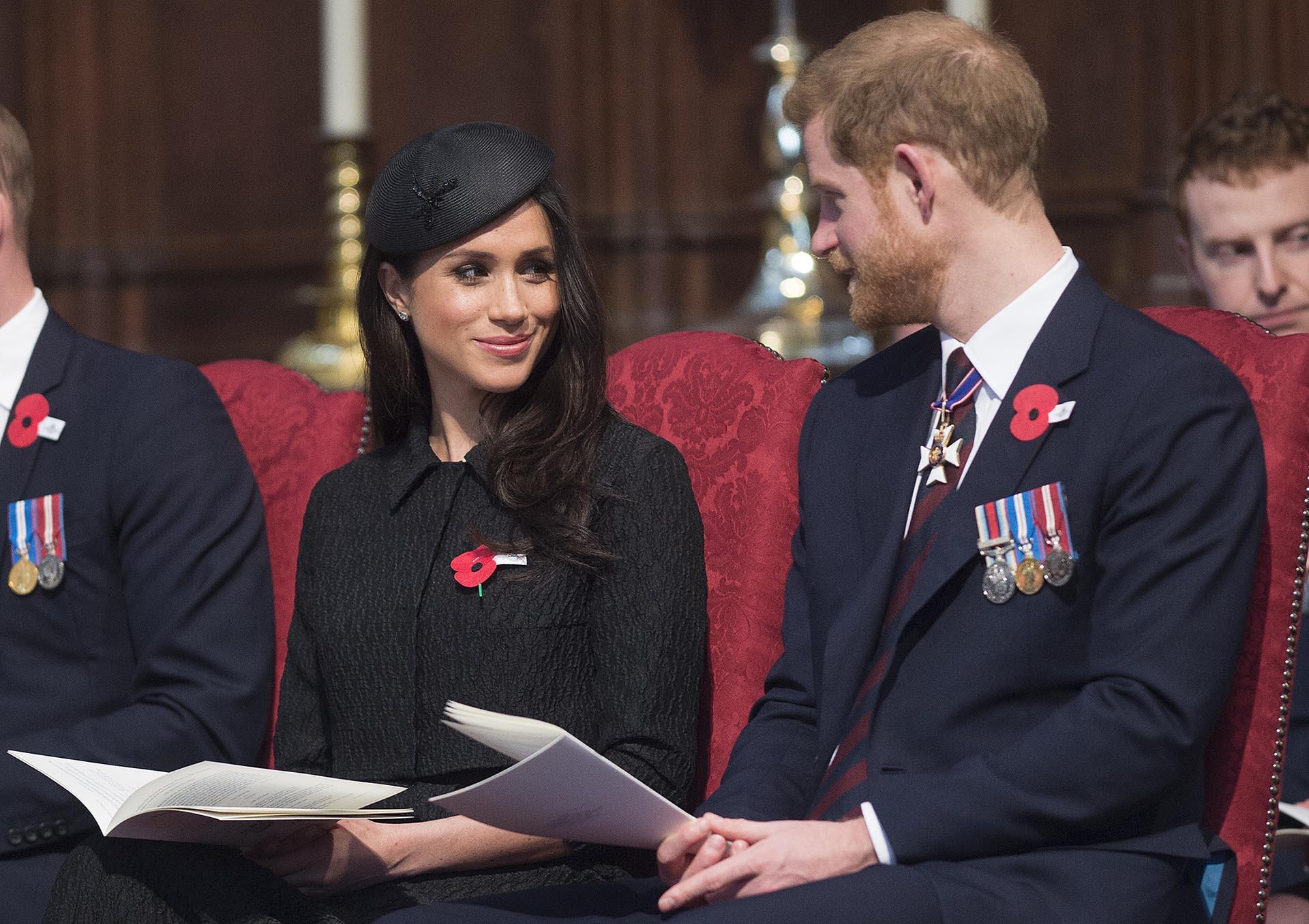 Ya en su rol de futura princesa, Meghan empezó a tomar más protagonismo en la vida pública británica