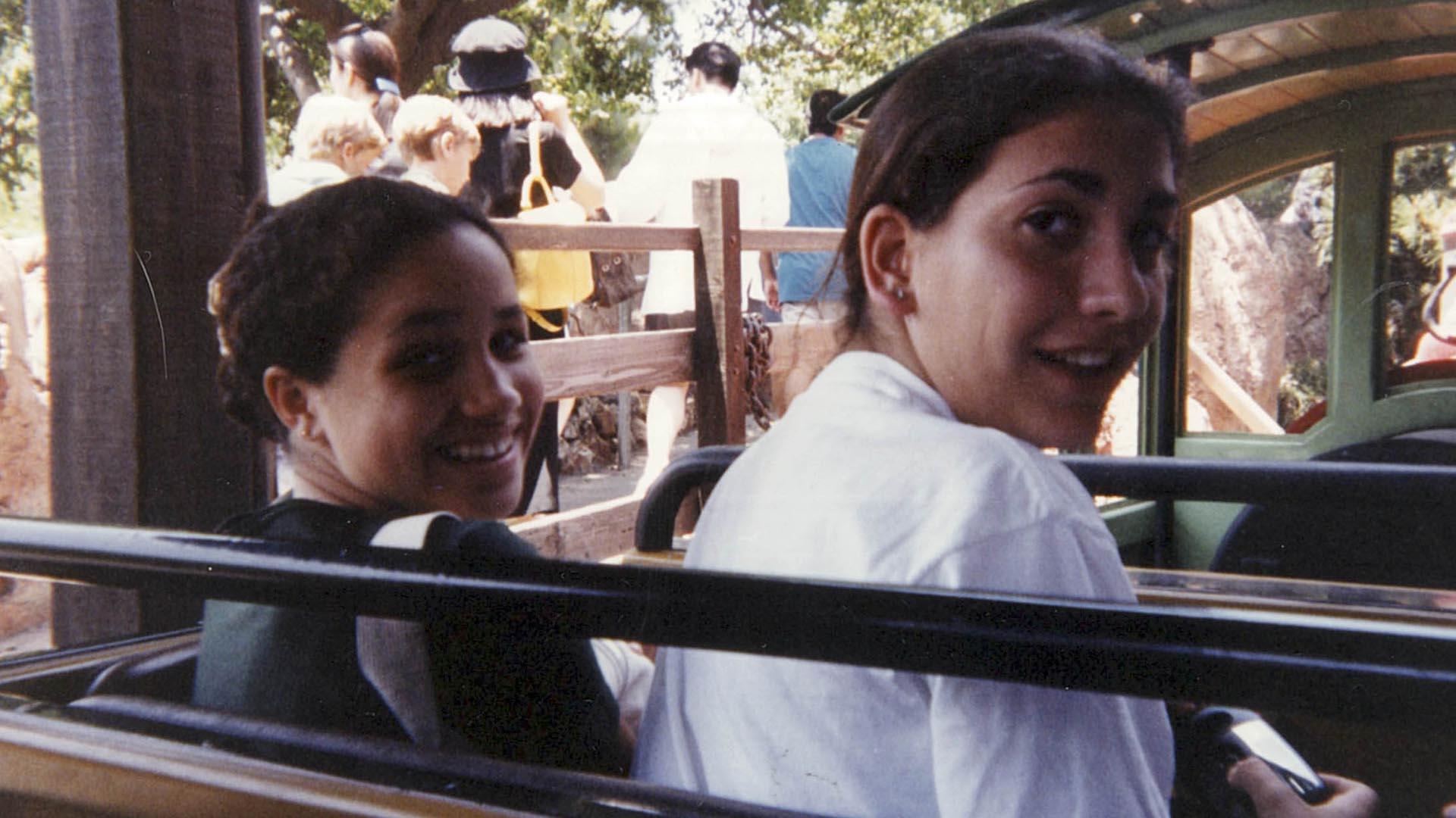 Meghan Markle durante un viaje familiar a Disney