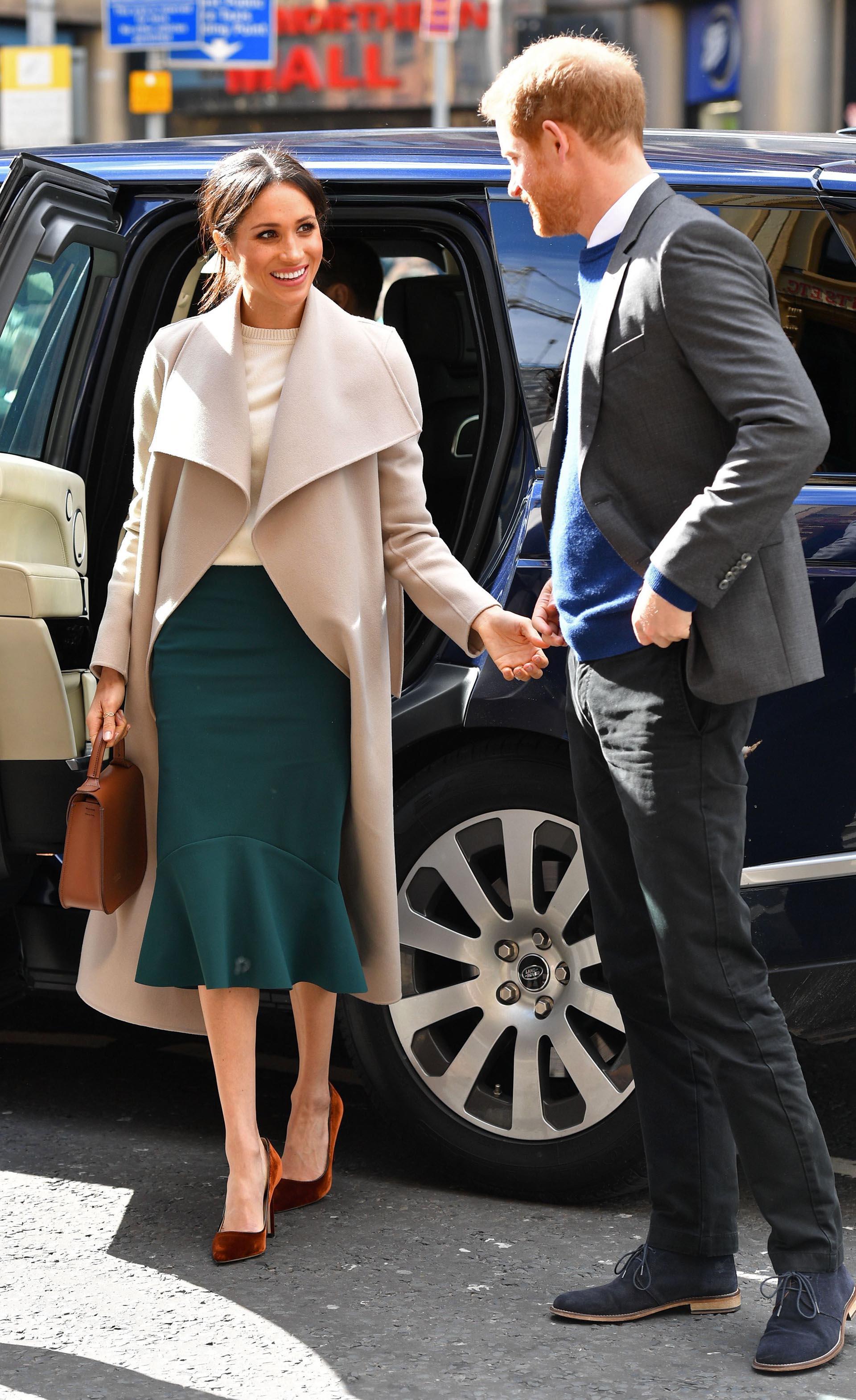 Ella estuvo divertida y no le intimidó el hecho de que se tratara del príncipe Harry. A él le pareció ´una chica increíble'