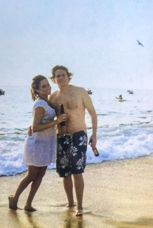 En plena luna de miel por el Caribe con su primer esposo