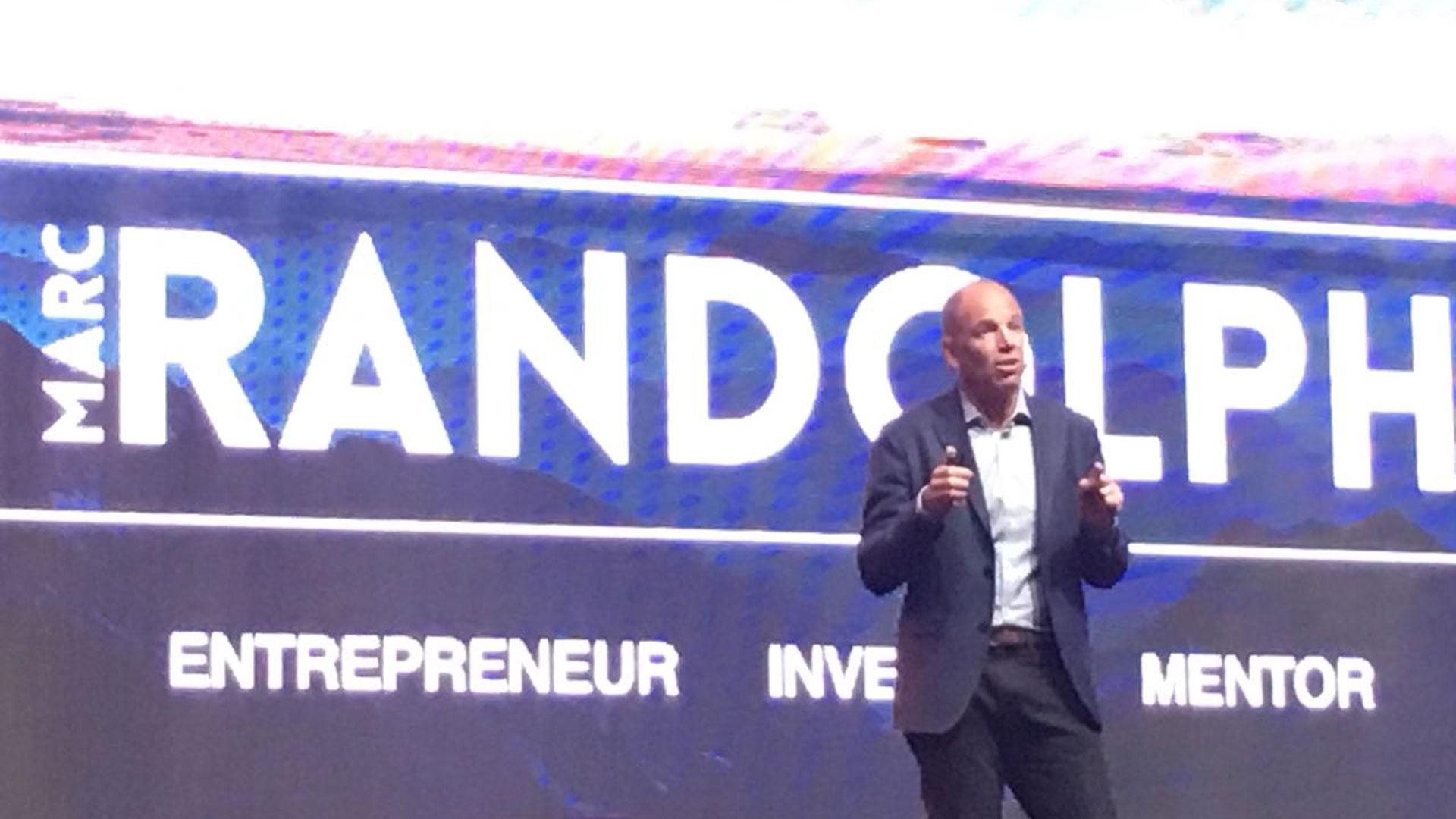 Randolph fue uno de los principales oradores del VTEX Day en San Pablo
