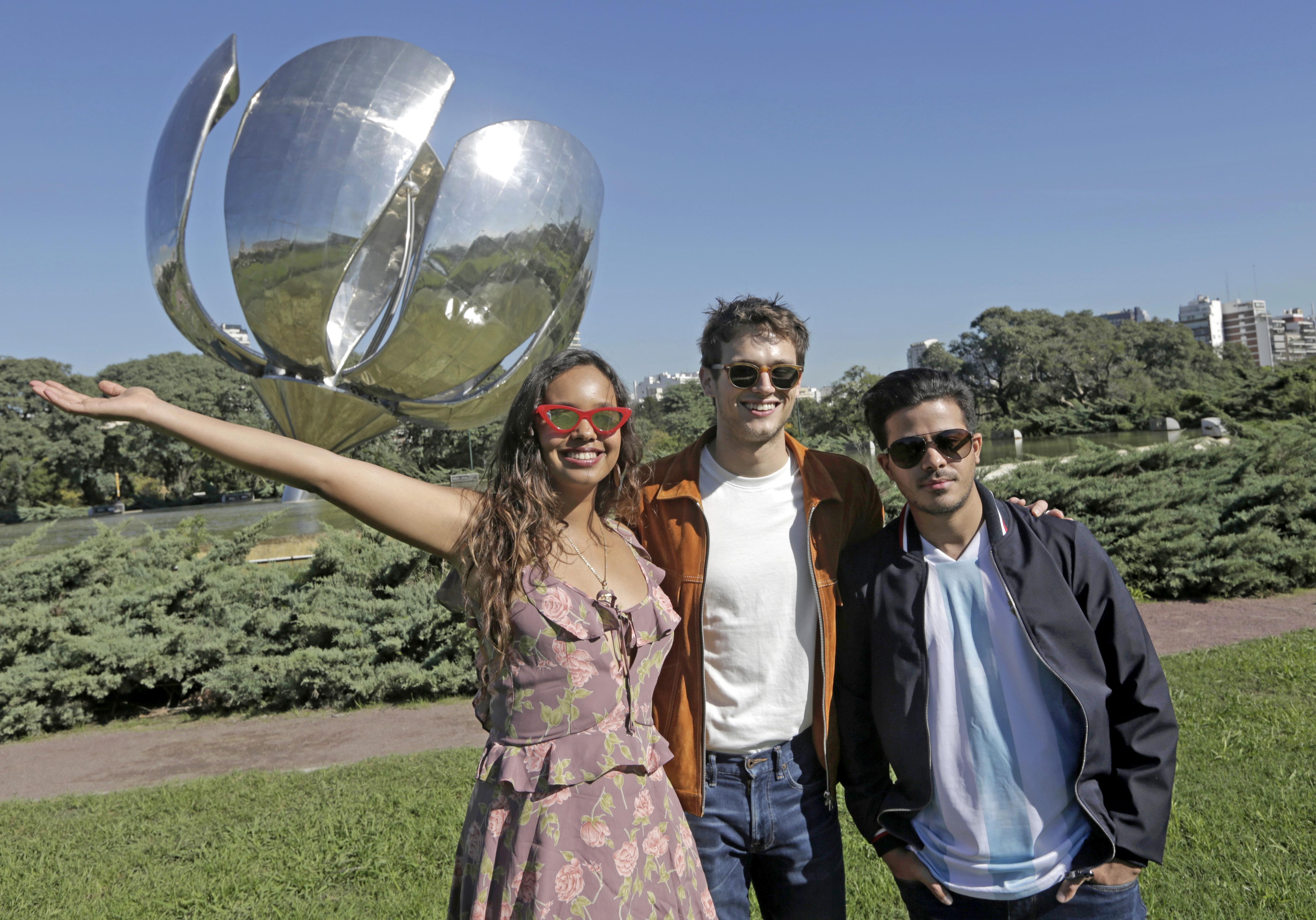 ¡Durante su minitour en Argentina, no pararon y pasaron por todos los lugares mas importantes!