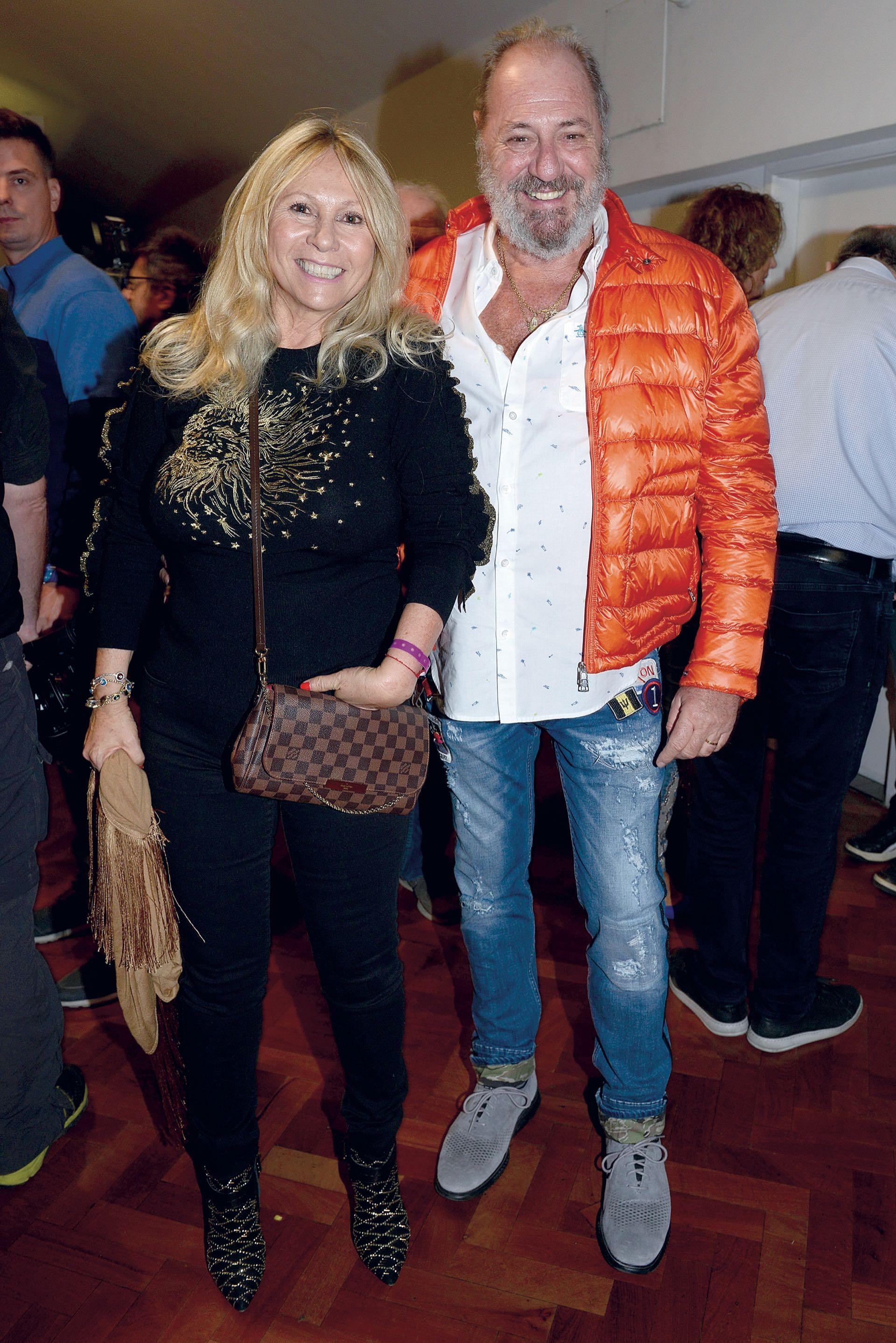 Ana Rosenfeld y Marcelo Frydlewsky
