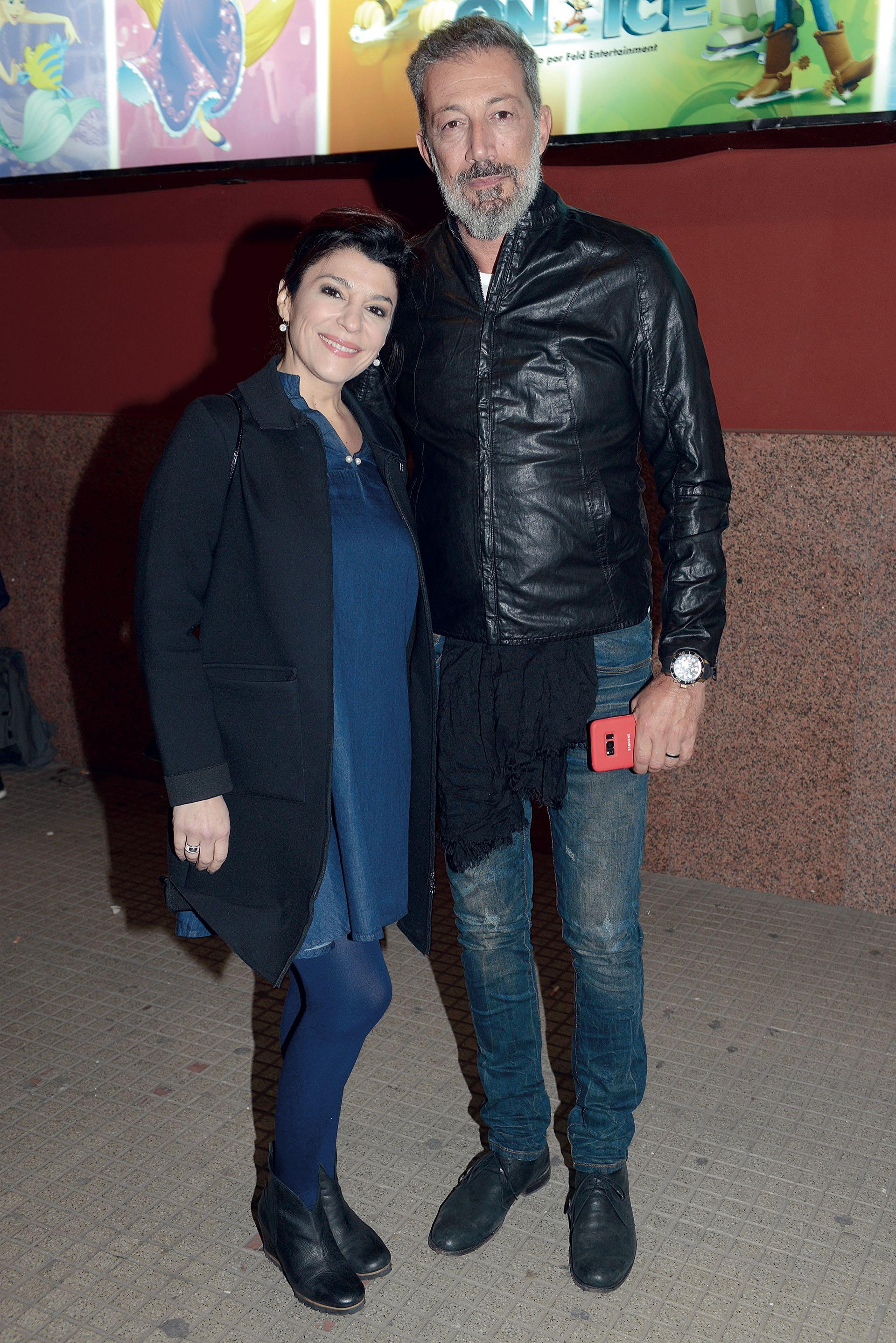 Carolina Papaleo y Miguel Cuberos