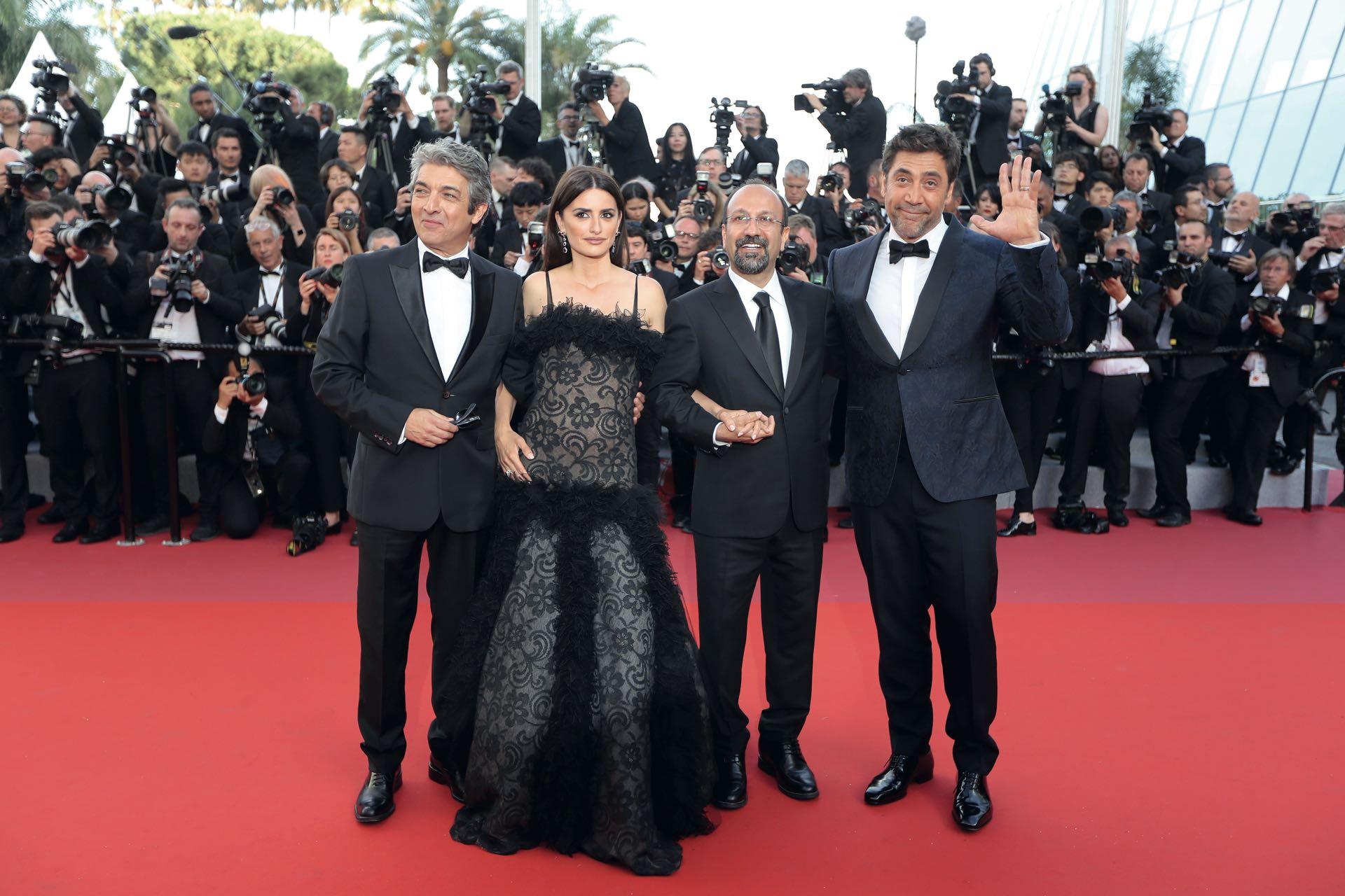 """""""Fui como una especie de invitado de piedra, porque lo que importan en Cannes es el director y el glamour"""", bromeó Ricardo Darín."""