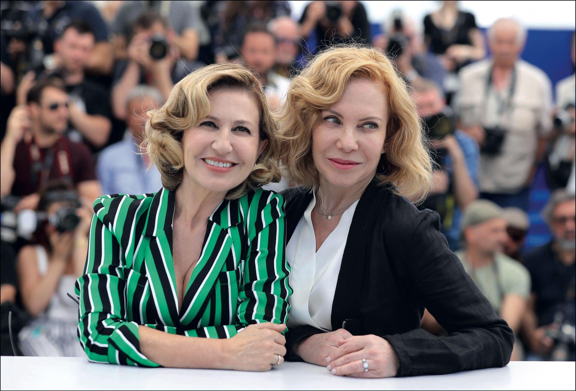 Dos señoras del cine: Mercedes Morán y Cecilia Roth.