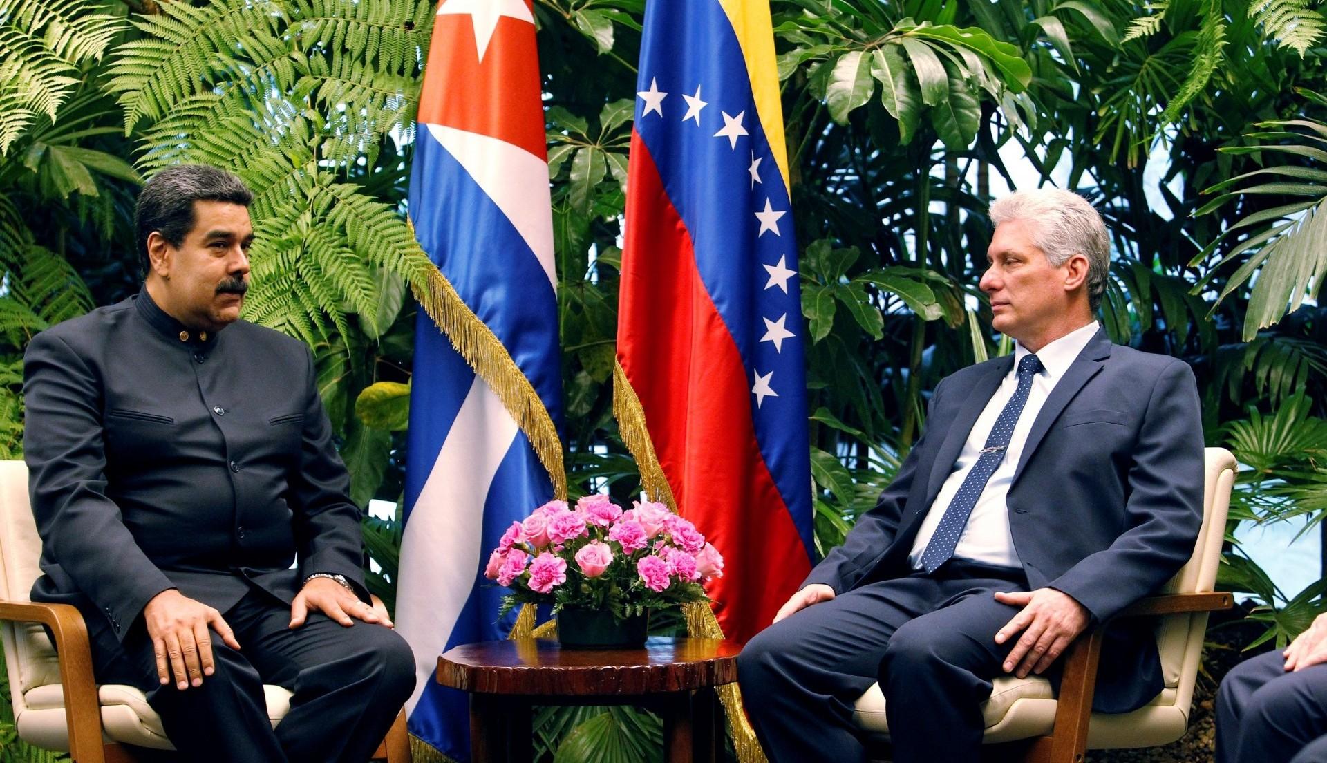 El régimen cubano tiene una gran influencia sobre la dictadura venezolana de Maduro(Ernesto Mastrascusa/Pool via Reuters)