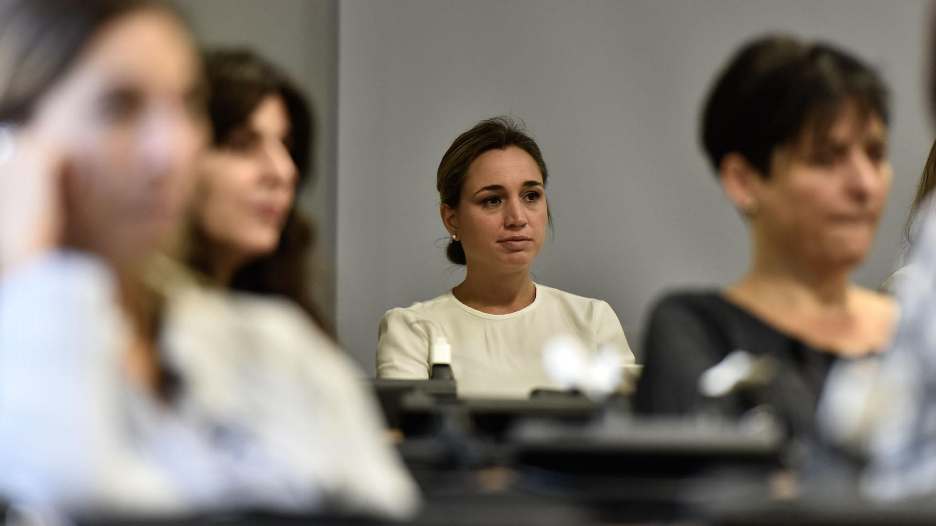 Fue la primera charla que se ofreció en el marco del acuerdo entre Digital House y UPWARD Argentina para potenciar la inclusión digital de las mujeres (Adrián Escandar)