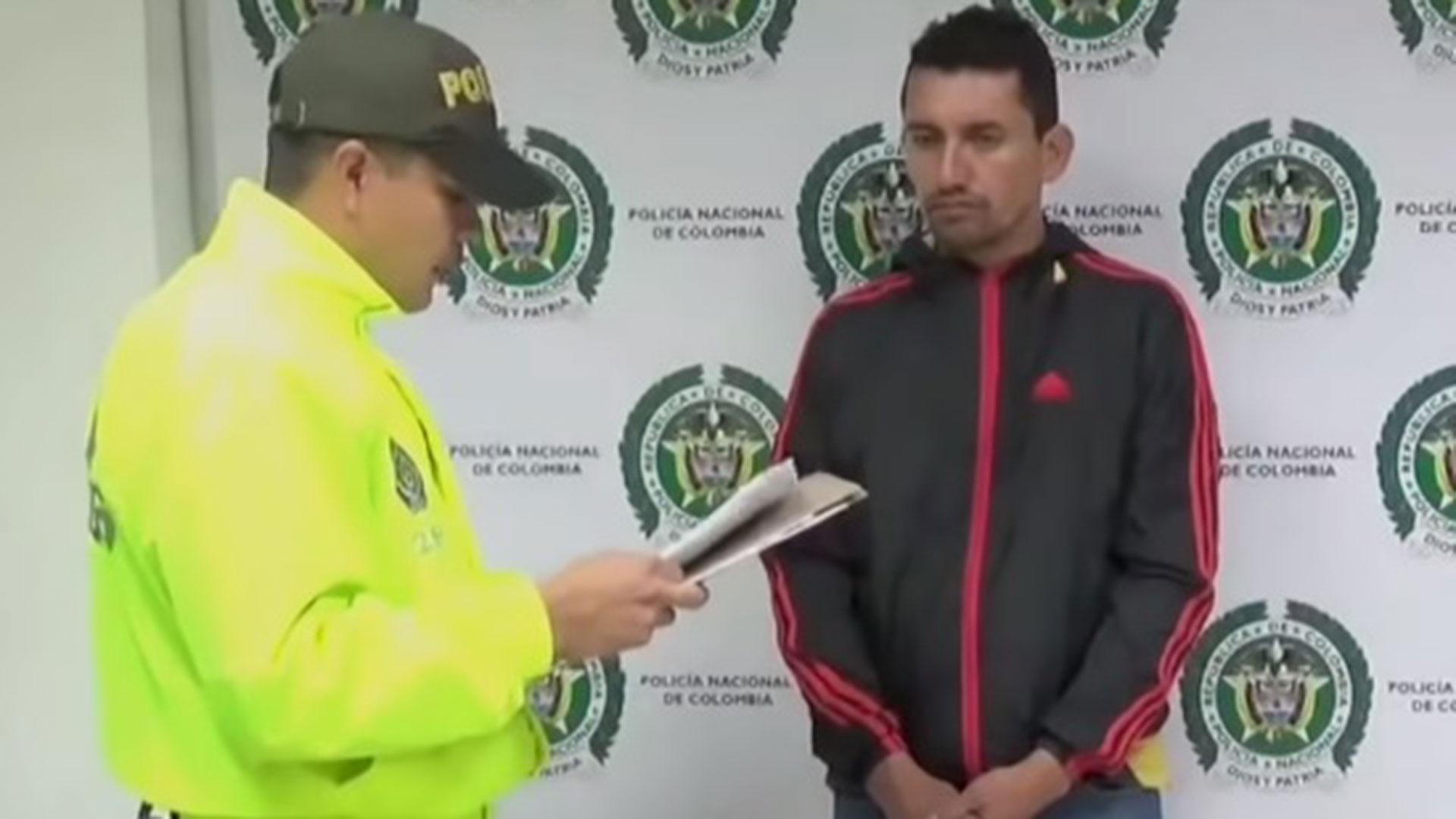Arbey Díaz Figueroa, alias 'el Químico', uno de los 10 hombres más buscados del FBI en Colombia.