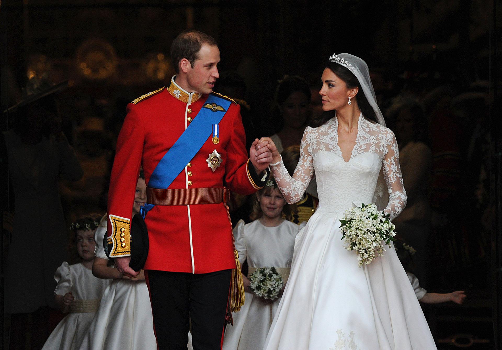 El casamiento príncipe William y la Duquesa de Cambrigde