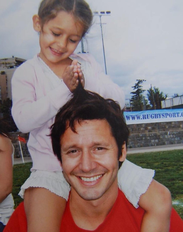 La imagen que utilizó Vicuña para recordar a su hija (Foto: Instagram)