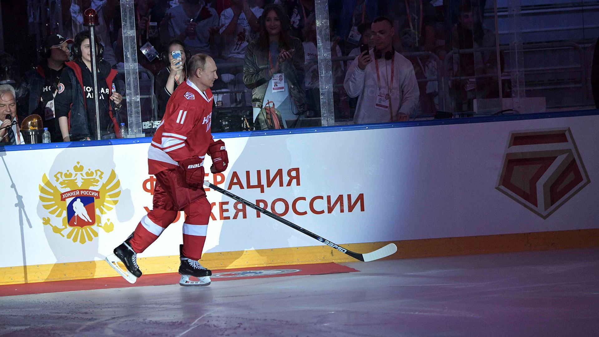 Putin fue uno de los goleadores del partido con 5 tantos (Reuters)