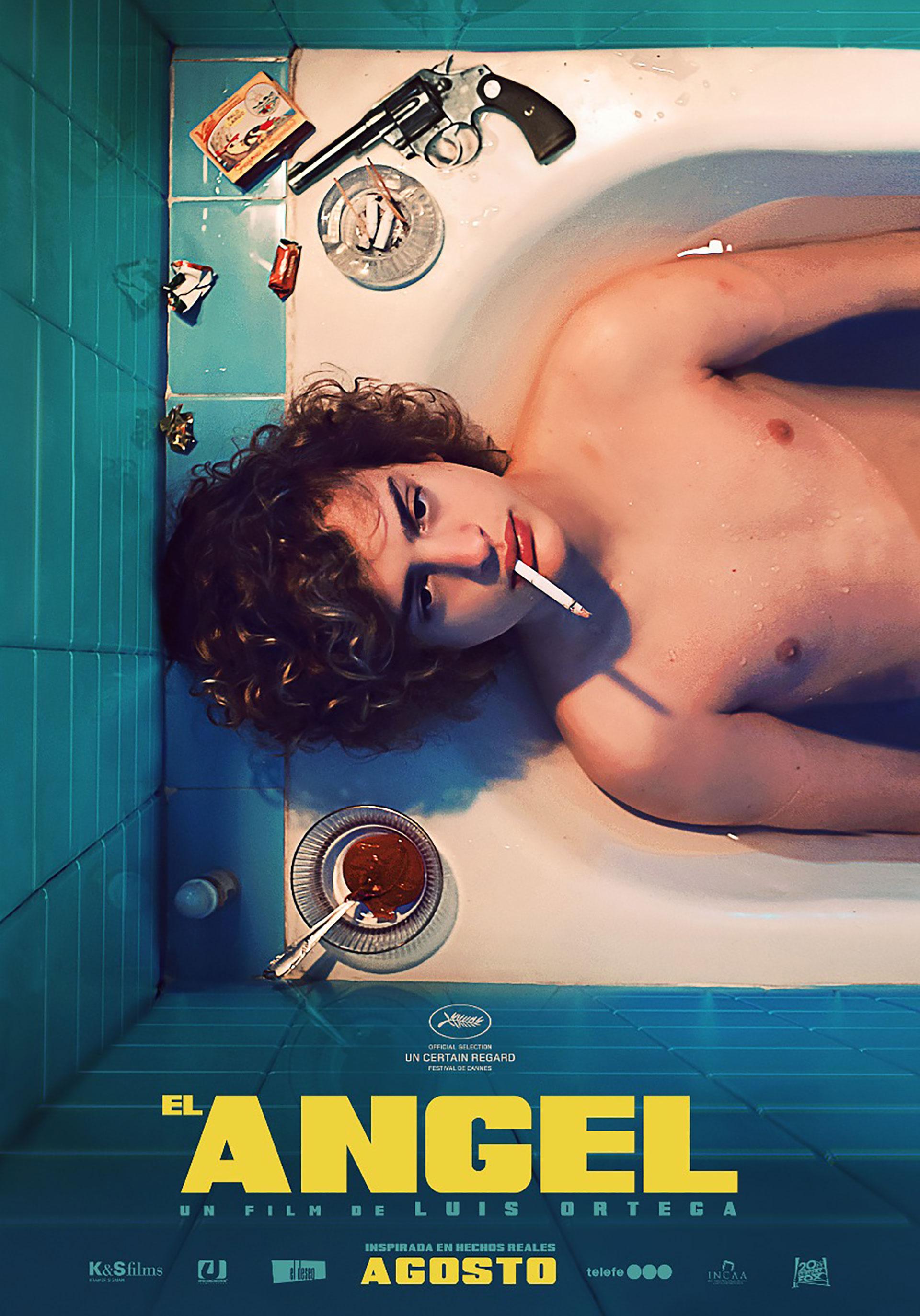 """La película """"El Ángel"""" fue ovacionada en Cannes"""