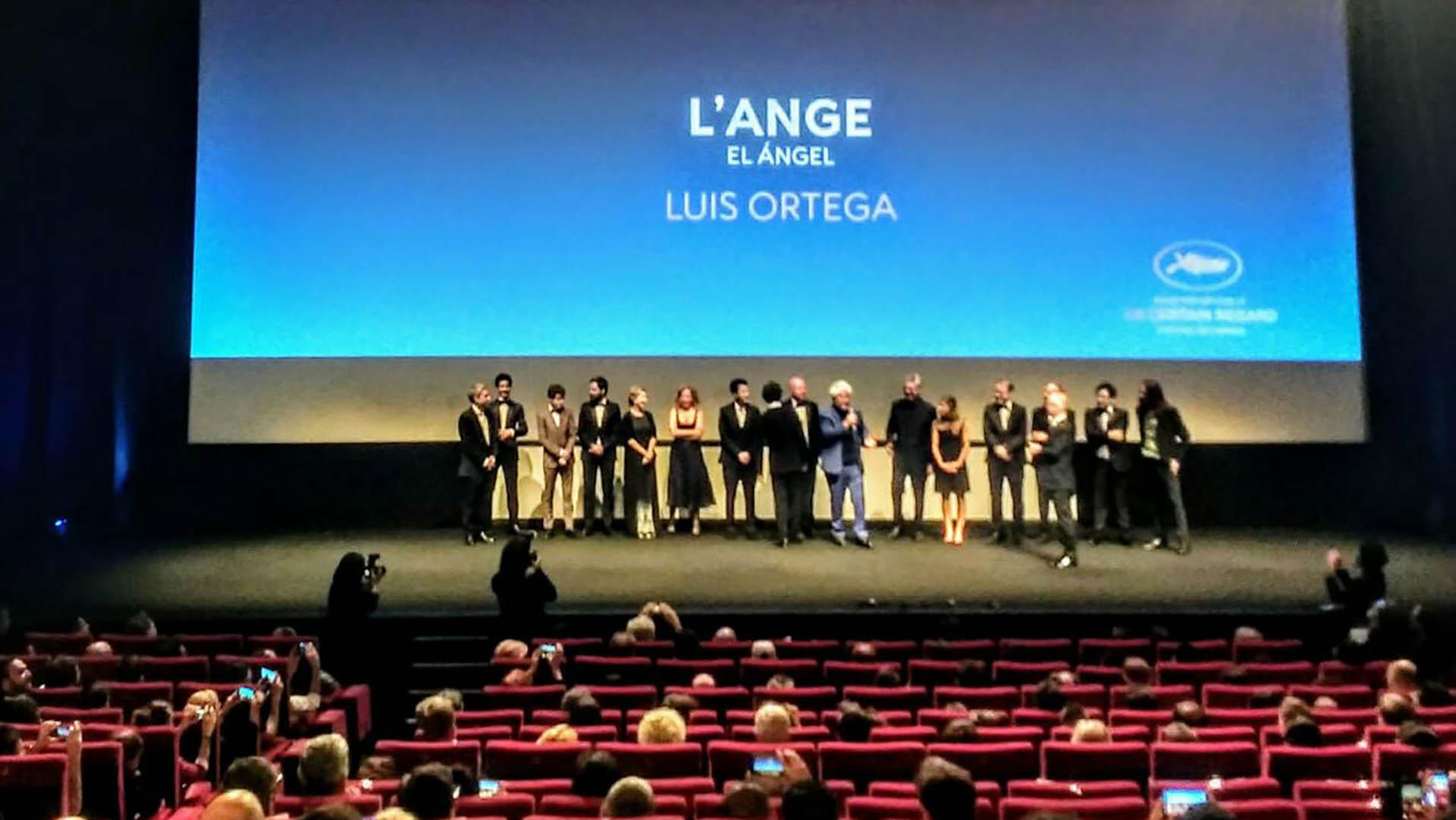 Pedro Almódovar presentó el film de Luis Ortega en el festival