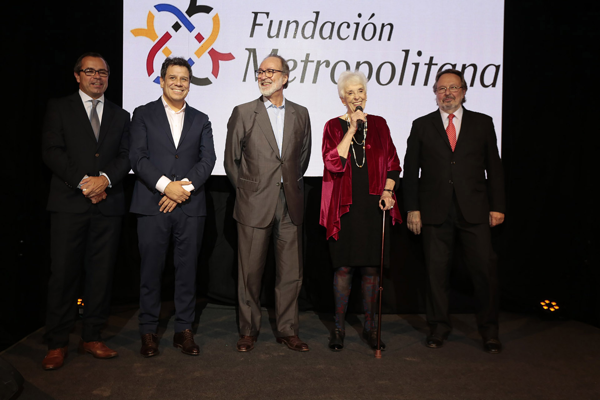 Gastón Urquiza, Facundo Manes, Daniel Chain, Graciela Fernández Meijide y Pedro Del Piero