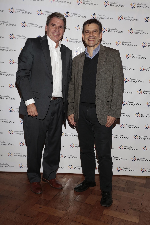 Gabriel Astarloa, Procurador General porteño, y Franco Moccia, ministro de Desarrollo Urbano y Transporte porteño