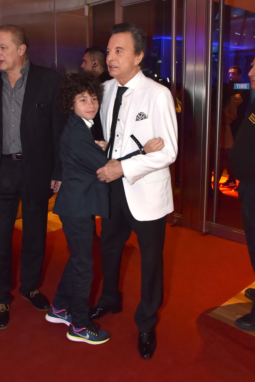 Palito Ortega y su nieto Benito