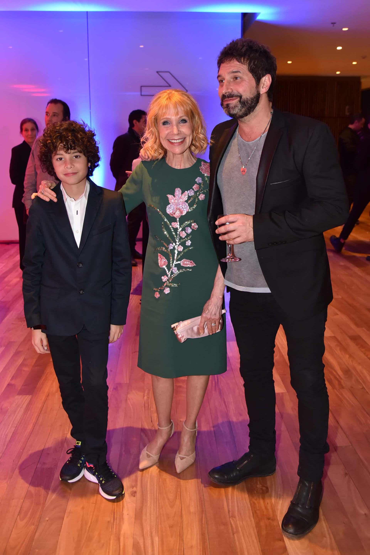 Evangelina Salazar, Iván Noble y su hijo Benito