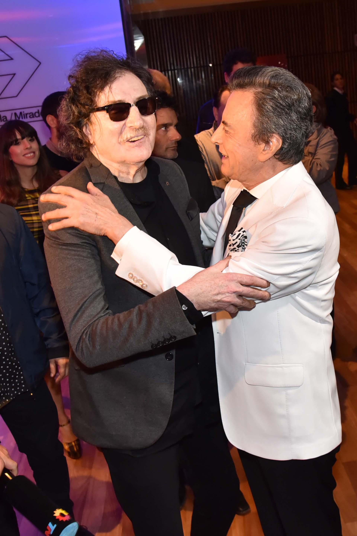 Charly García y Palito, dos grandes amigos