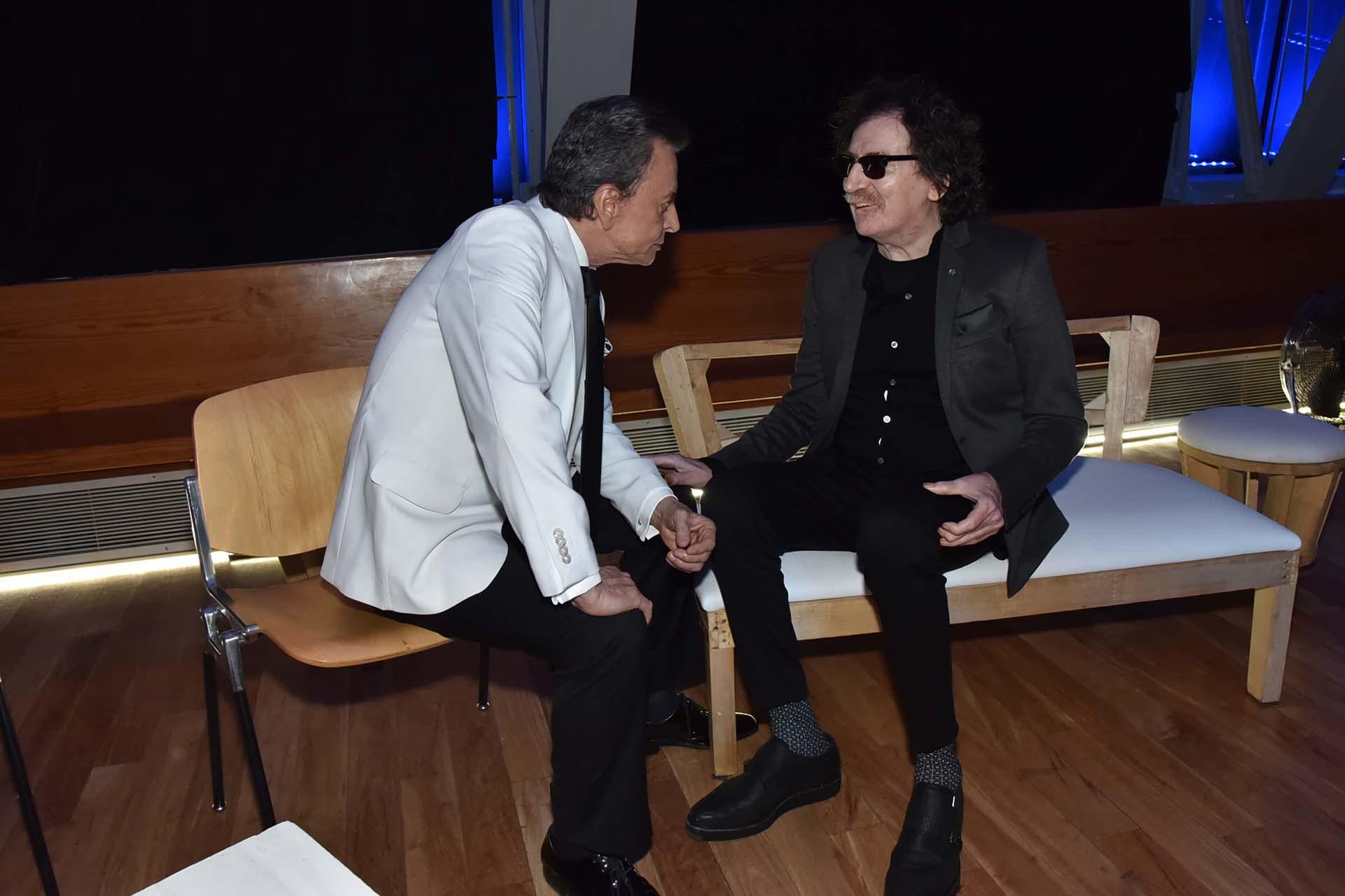 La charla íntima entre dos grandes amigos