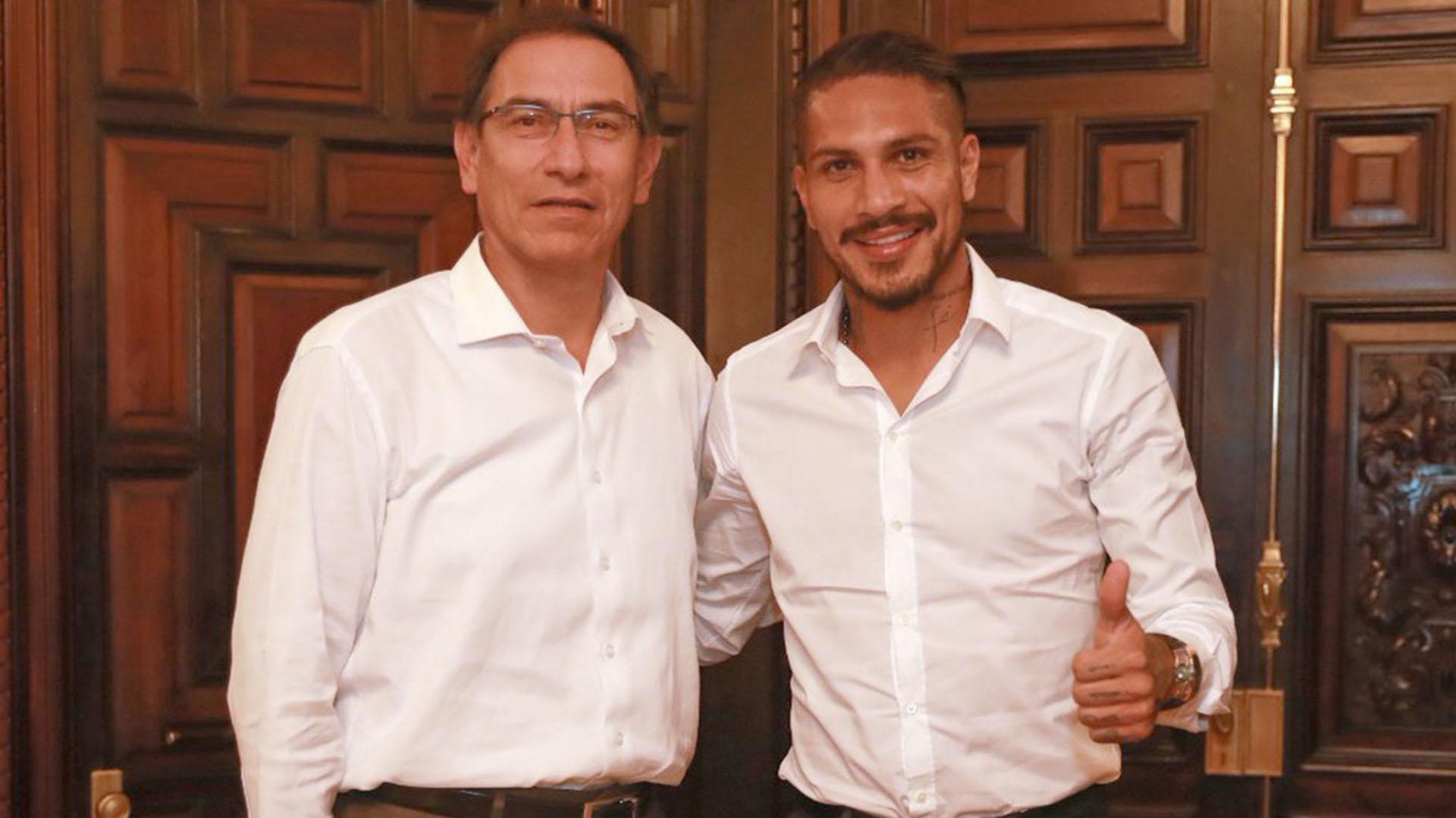 Vizcarra y Guerrero en la reunión (@MartinVizcarraC)