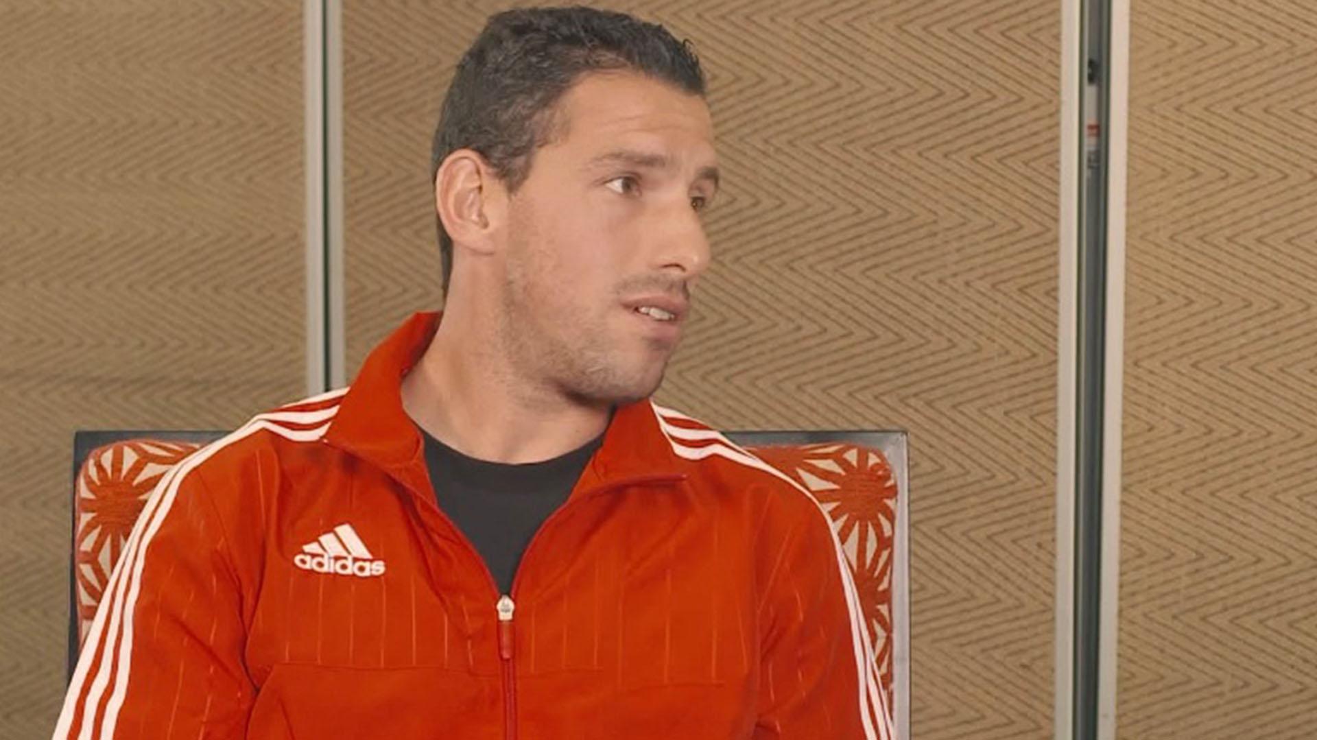 Maxi, de 37 años, todavía se destaca en Peñarol de Uruguay