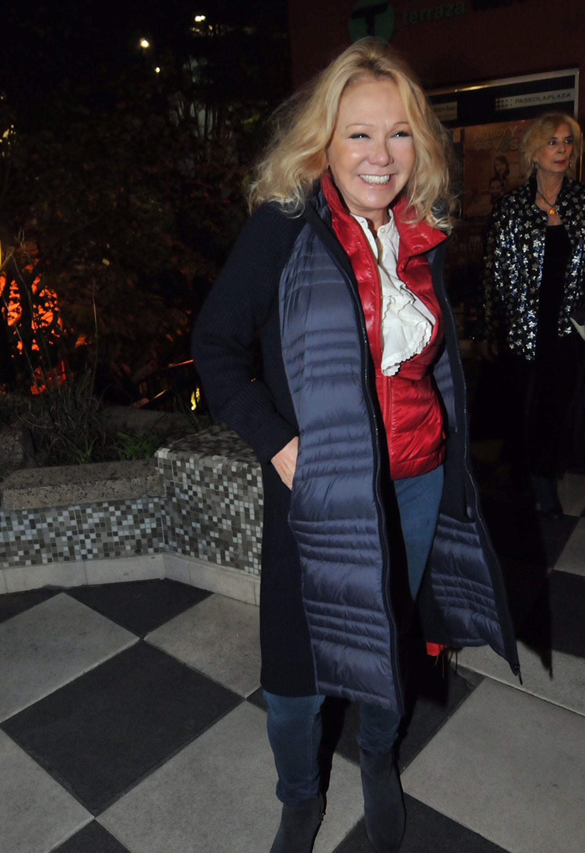 Soledad Silveyra fue un de las que aplaudió de pie la genial interpretación de Marrale y Puig en 'El vestidor.