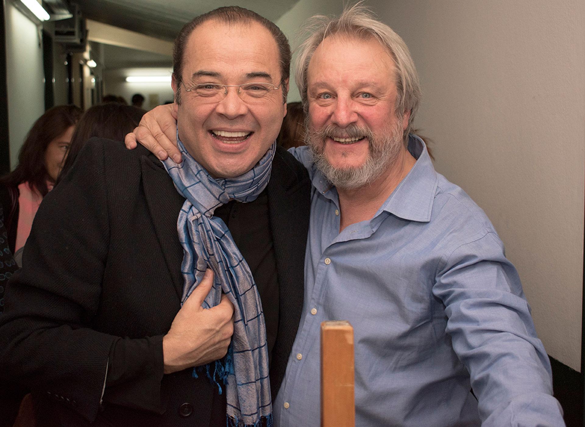 Jorge Marrale y Jorge Suárez