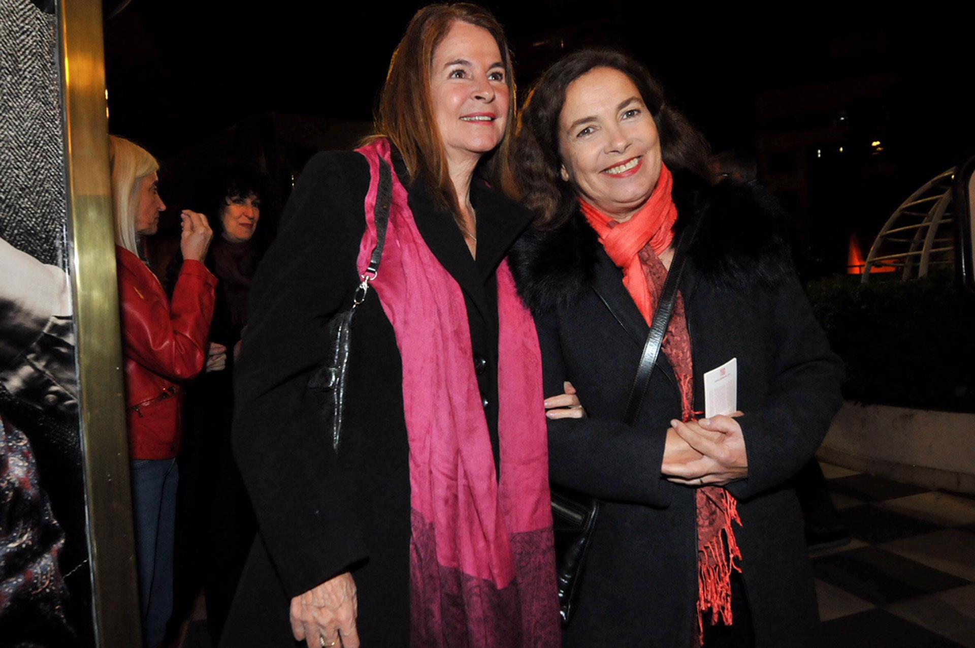 Sandra Mihanovich y MArita Novarro