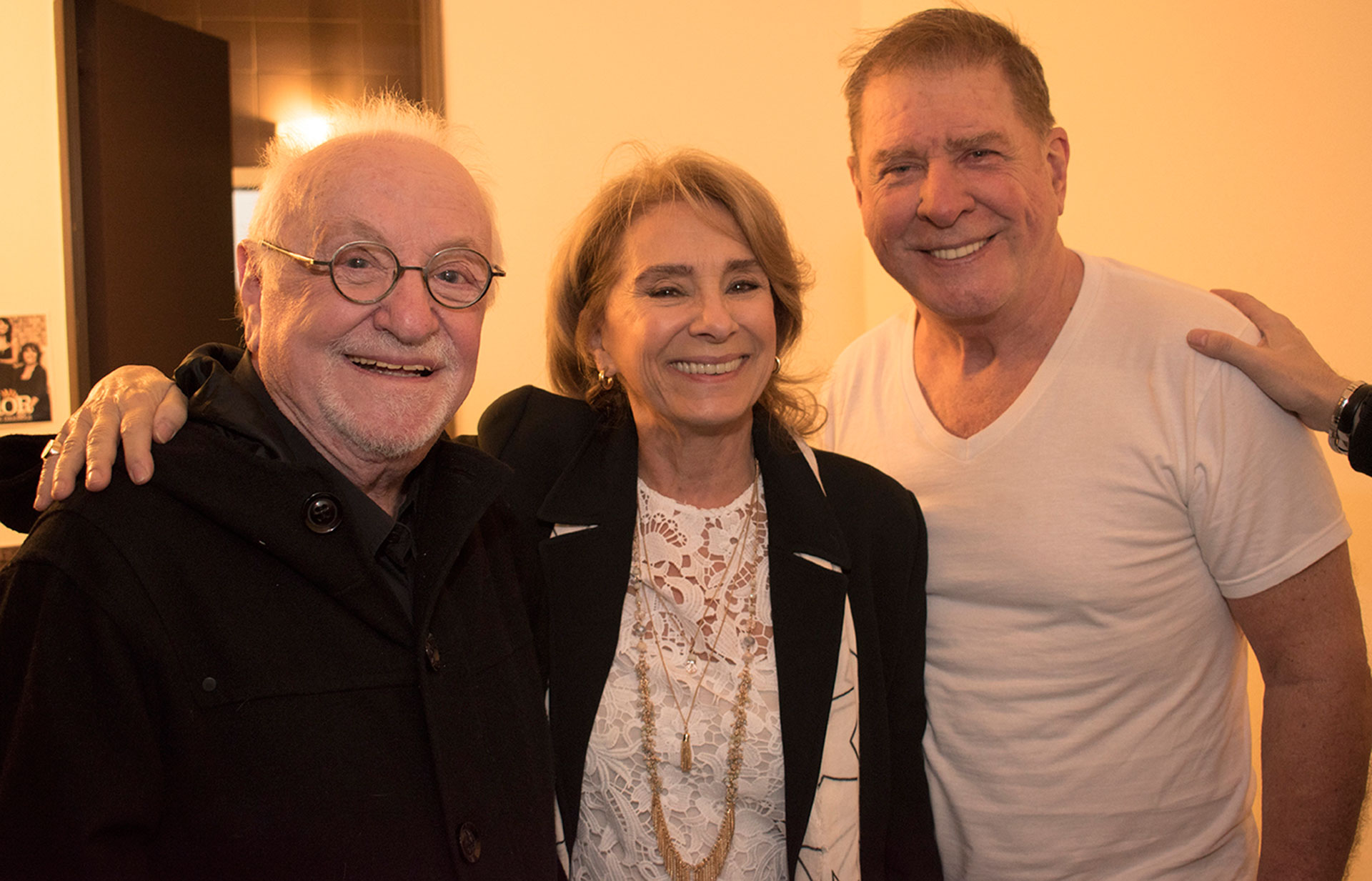 Pepe Soriano, Selva Aleman y Arturo Puig