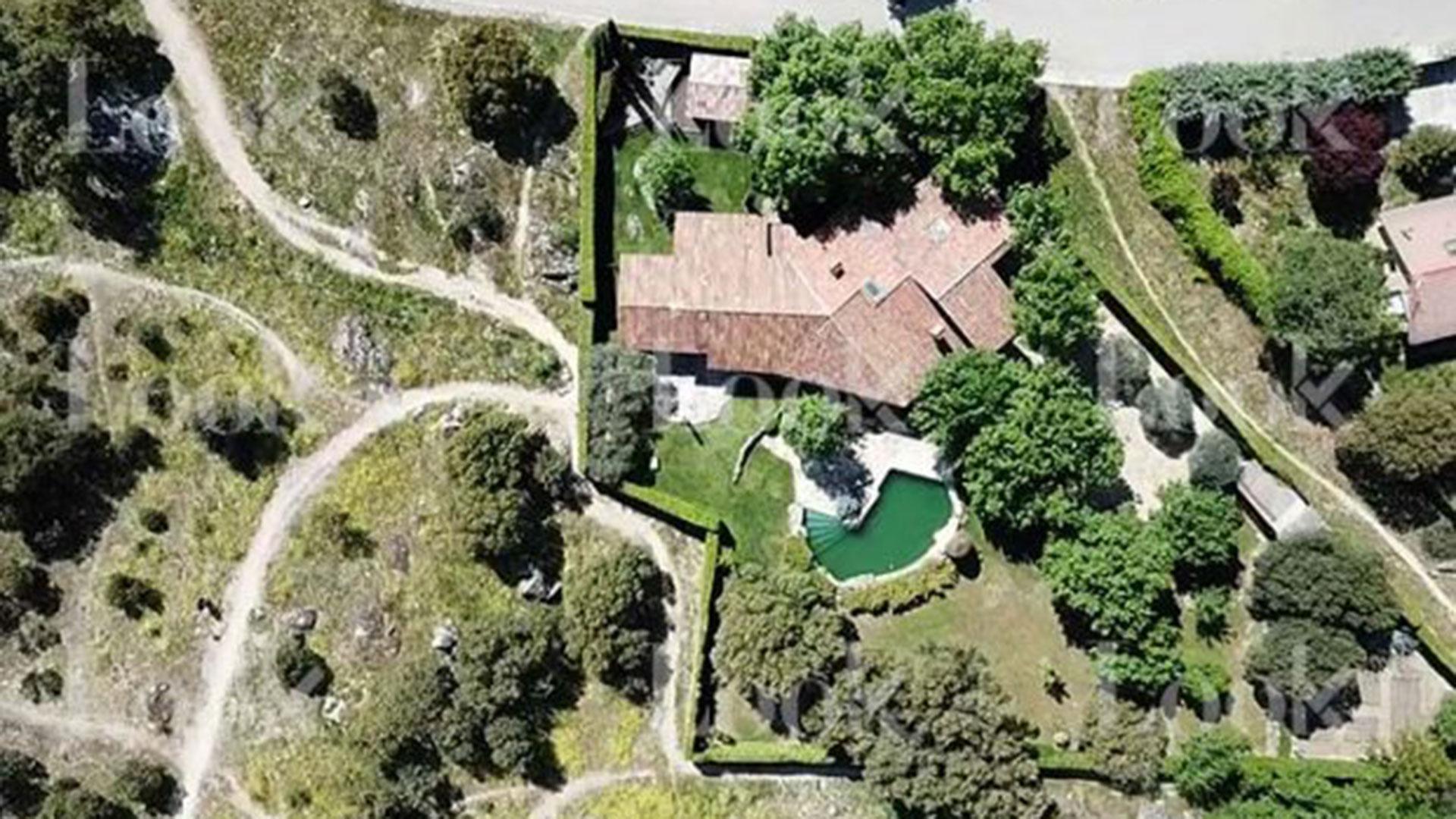 Está ubicada en la sierra de Madrid, cerca del parque de Guadarrama (LOOK)