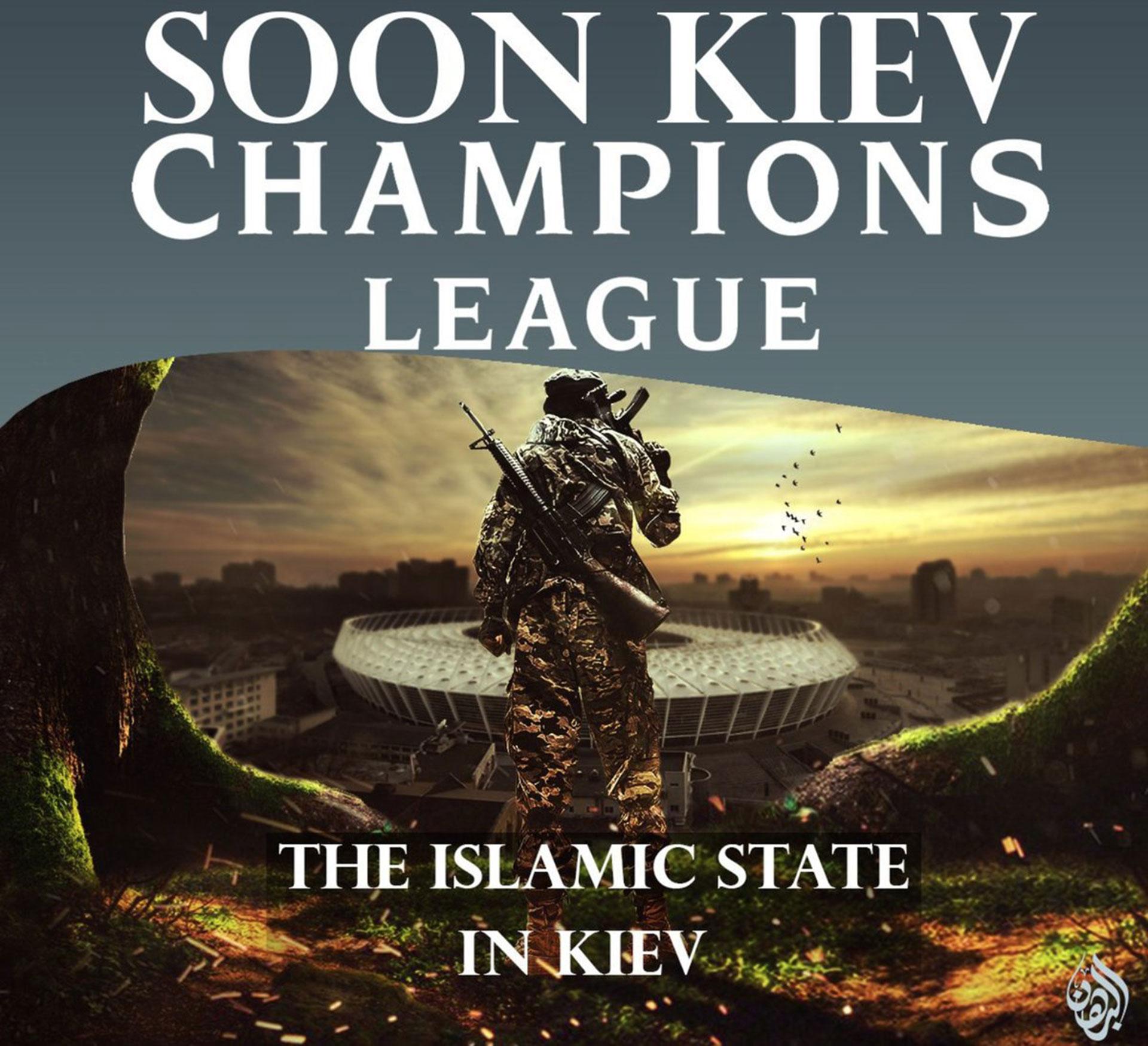 """""""Pronto en Kiev"""", dice el primer póster"""