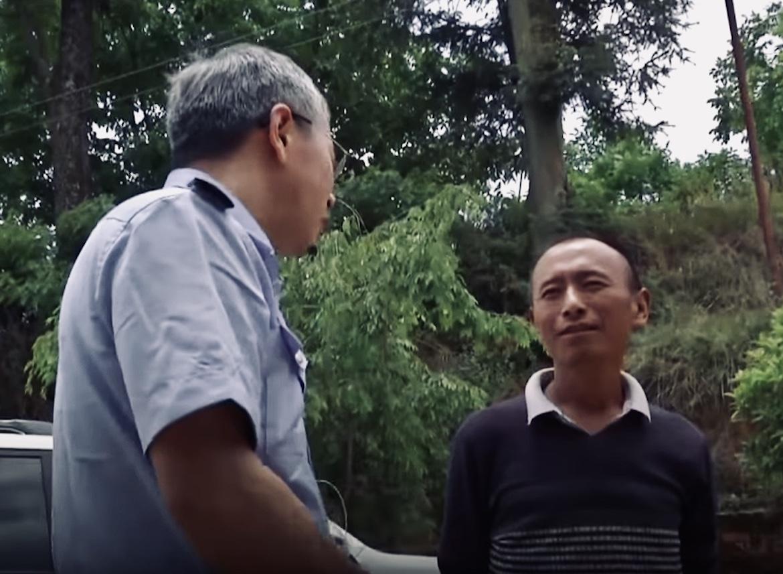 El Sr. Yun tuvo que explicar a las autoridades el origen de su particular mascota